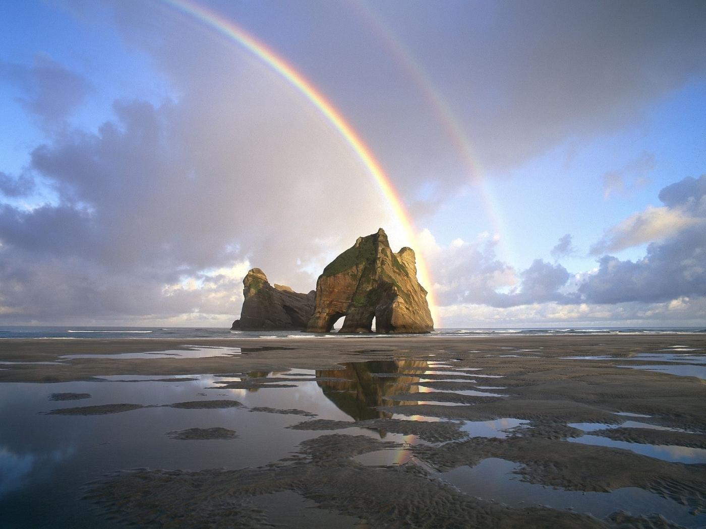 44914 免費下載壁紙 景观, 彩虹 屏保和圖片