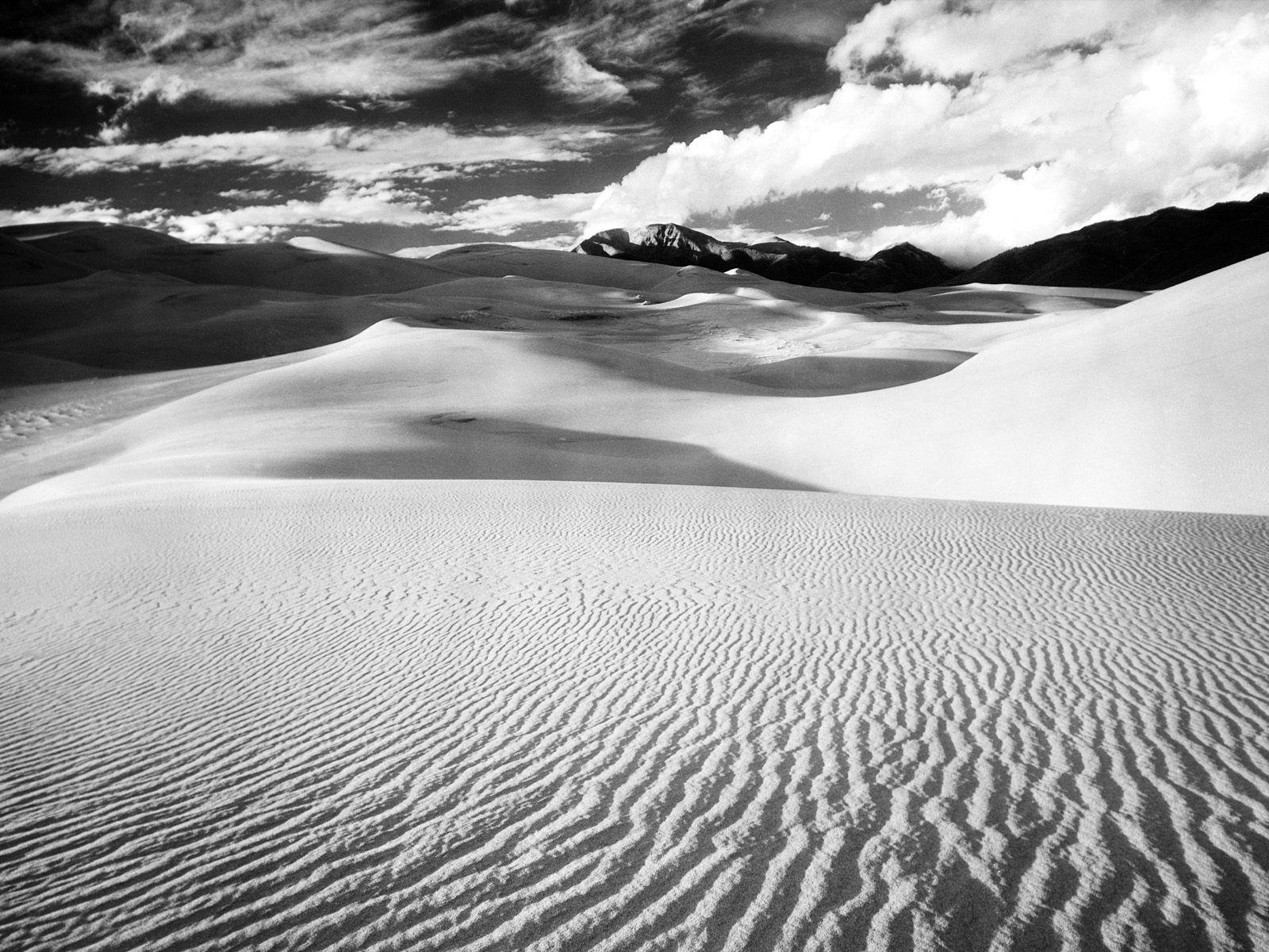 100966 baixar papel de parede Natureza, Areia, Dunas, Links, Linhas, Preto E Branco, Montanhas, Deserto - protetores de tela e imagens gratuitamente
