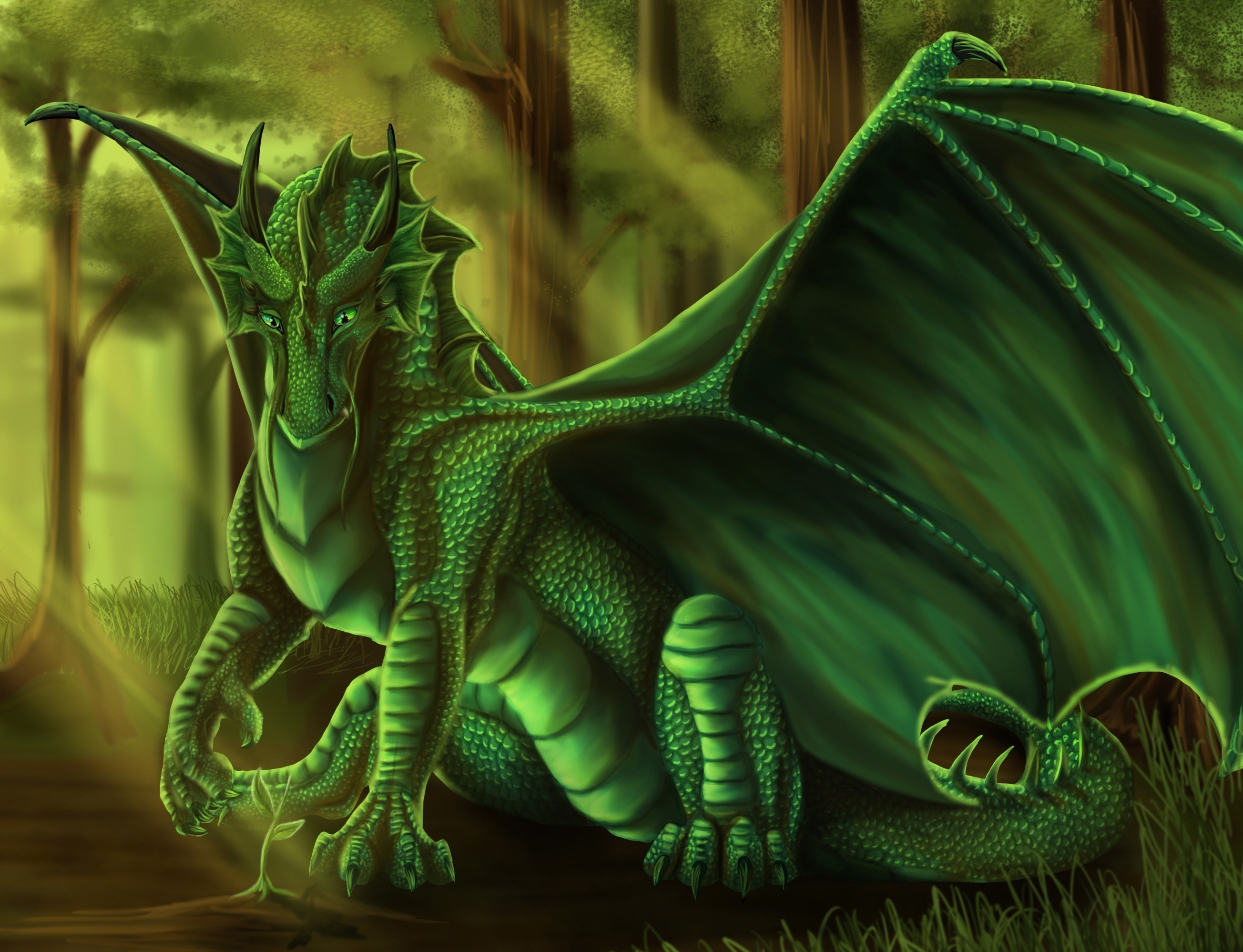 14842 download wallpaper Fantasy, Dragons screensavers and pictures for free