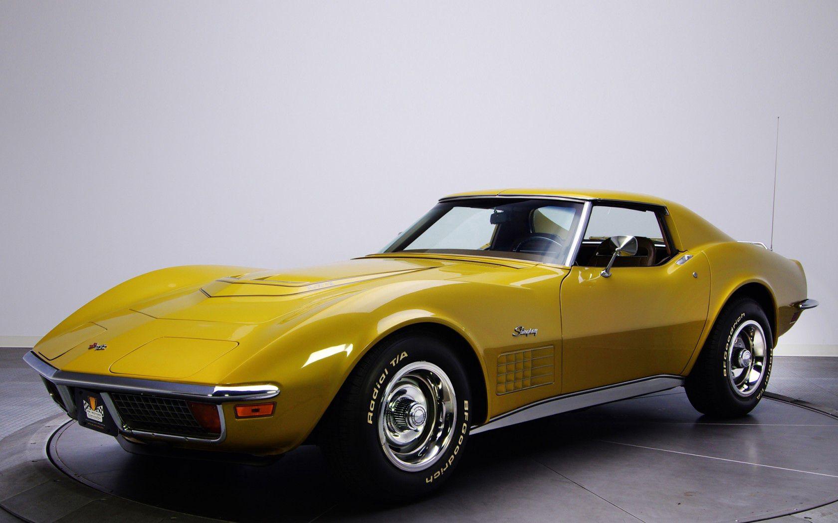 89537 скачать обои Шевроле (Chevrolet), Тачки (Cars), Corvette, 1970, Stingray, C3 - заставки и картинки бесплатно