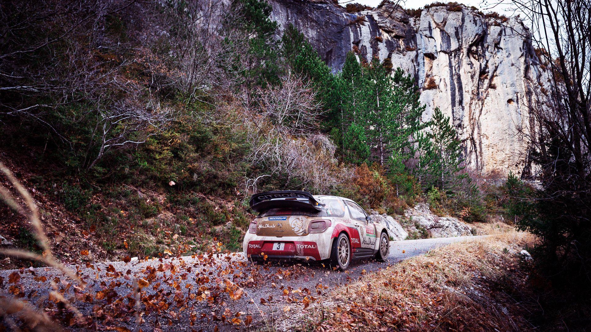 58345 скачать обои Осень, Ралли, Ситроен (Citroen), Тачки (Cars), Ds3 - заставки и картинки бесплатно