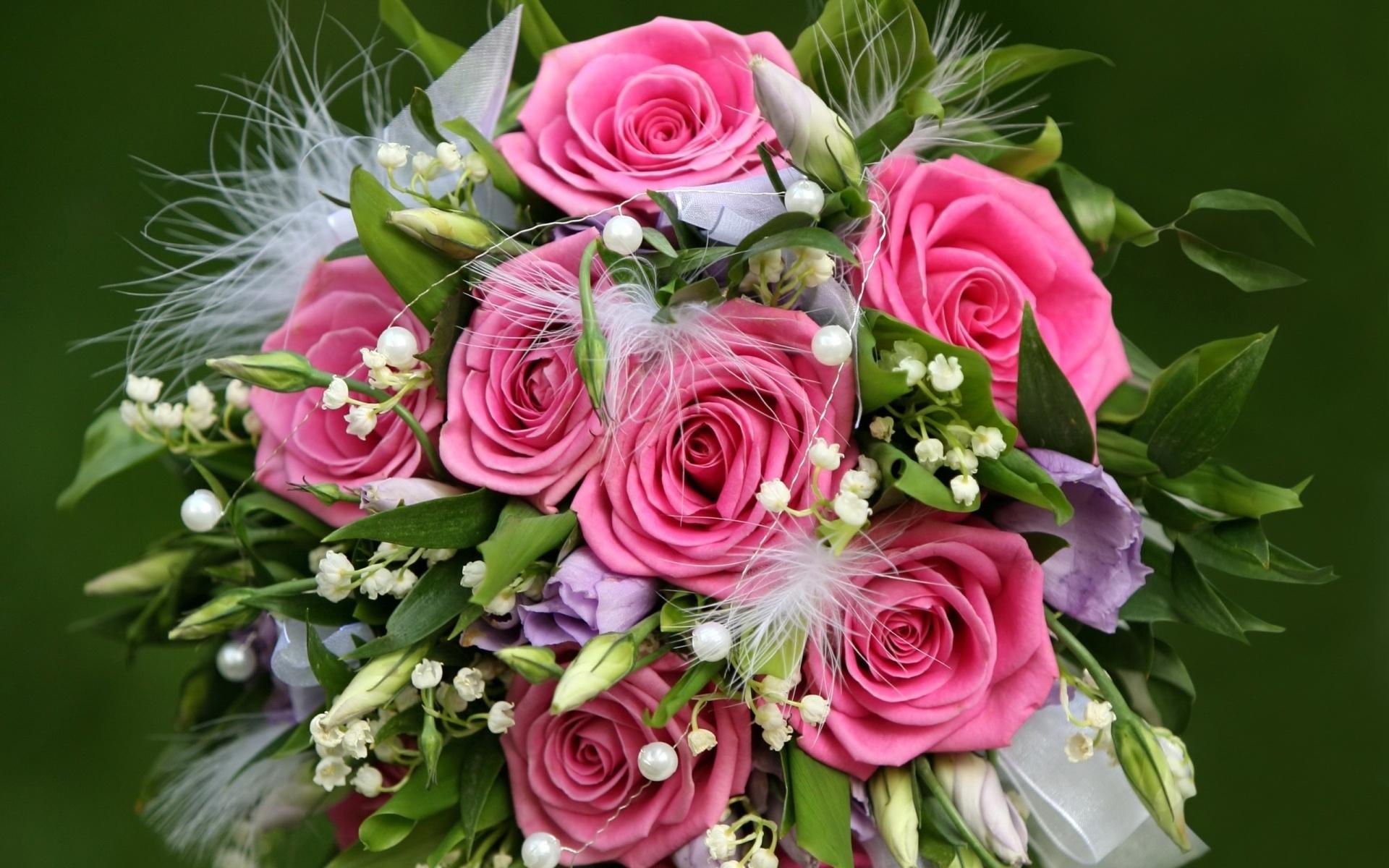 27527 скачать обои Растения, Розы, Цветы, Букеты, Фон - заставки и картинки бесплатно
