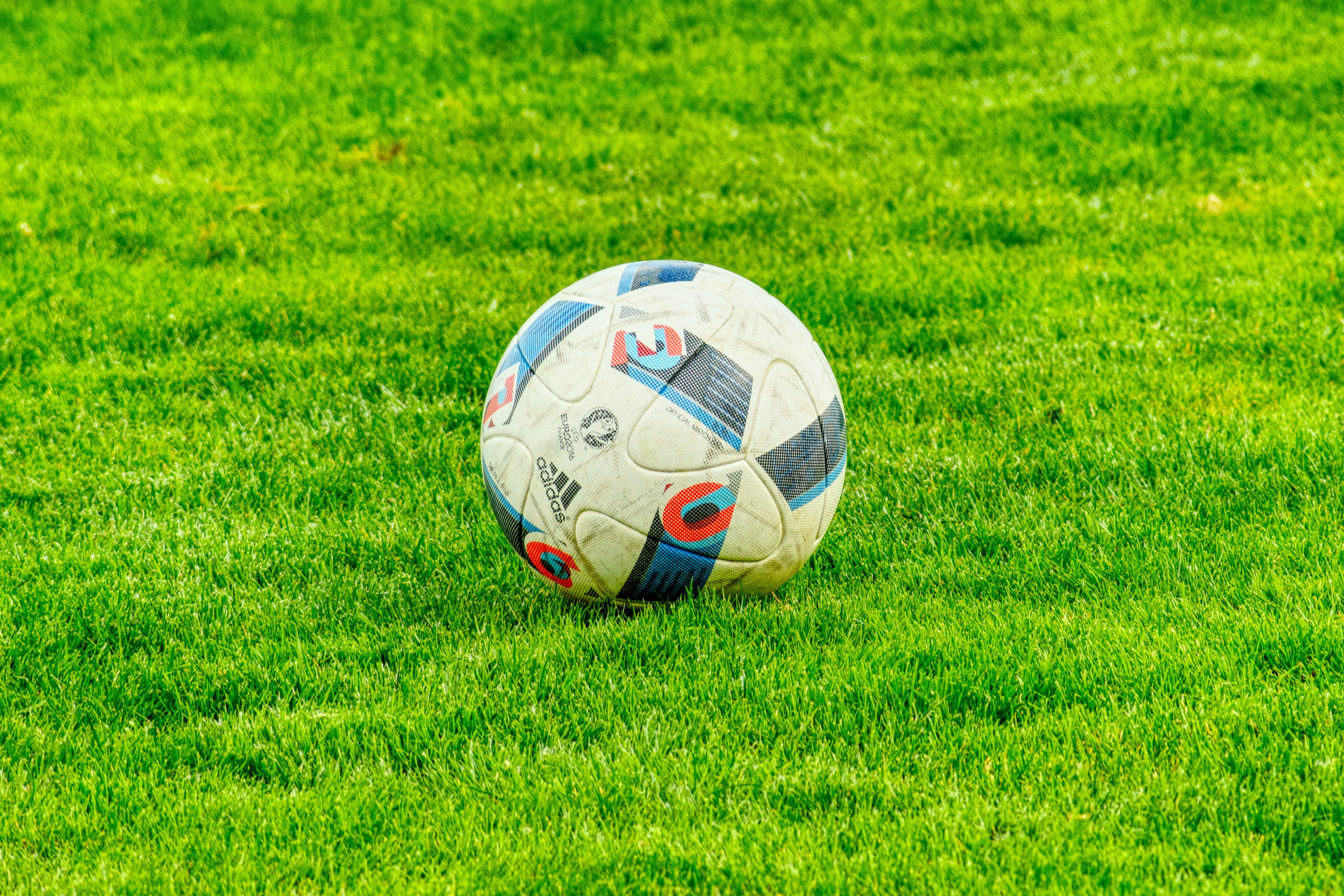 139538 download wallpaper Football, Sports, Grass, Ball, Lawn screensavers and pictures for free