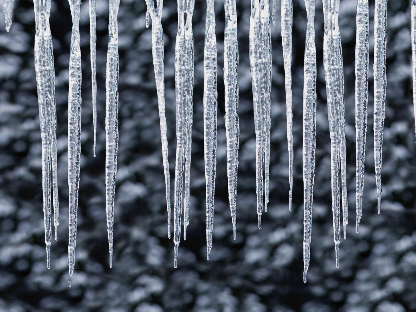 91614 скачать обои Природа, Сосульки, Ряд, Зима, Холод, Лед - заставки и картинки бесплатно