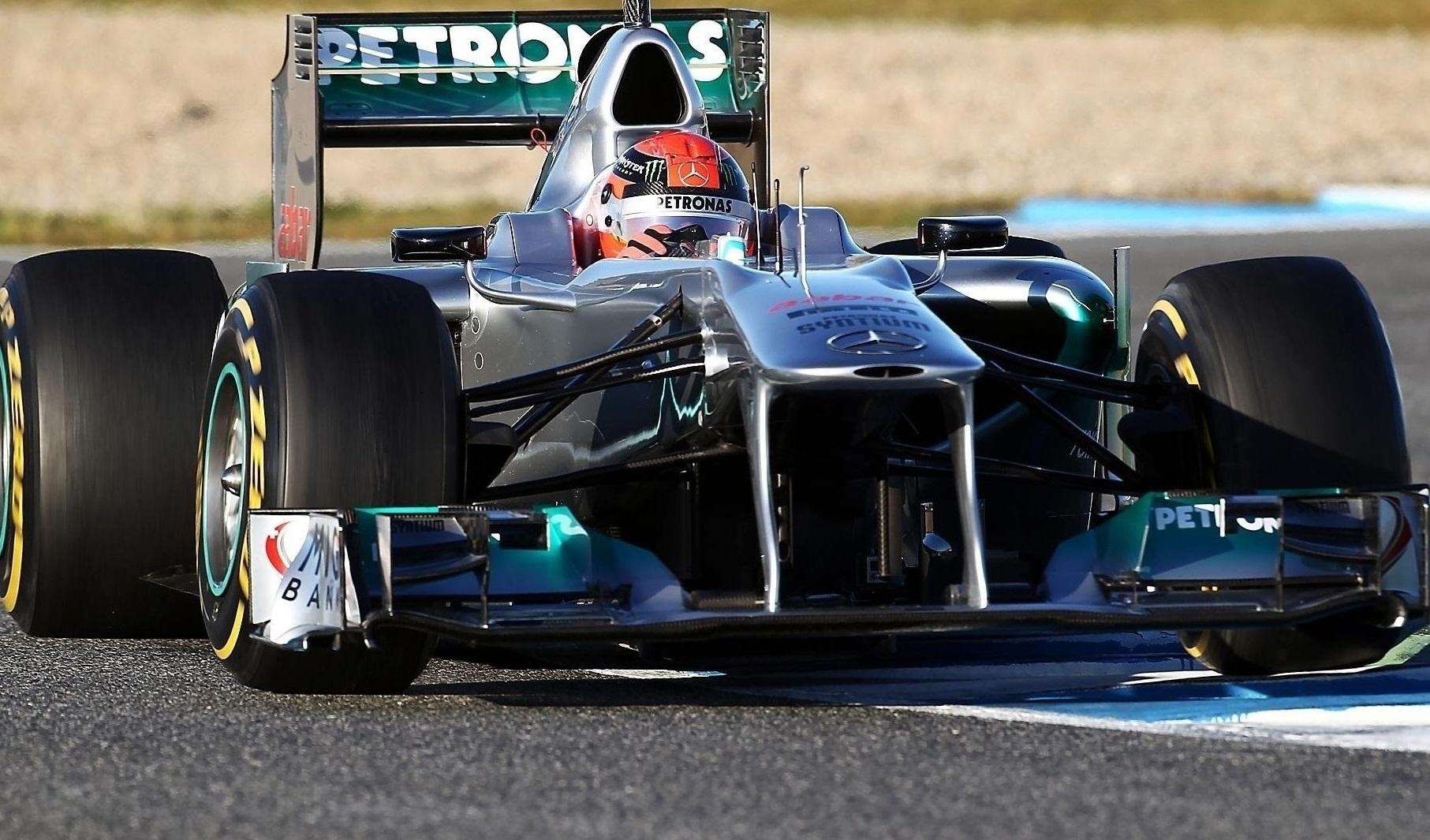 94157 скачать обои Спорт, Шумахер, Мерседес (Mercedes), F1 - заставки и картинки бесплатно