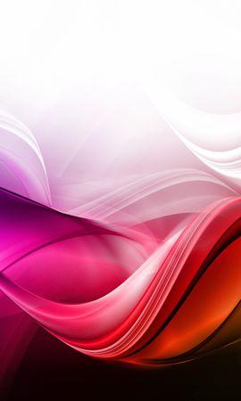 76313 télécharger le fond d'écran Abstrait, Contexte, Coloré, Lignes, Ondulations - économiseurs d'écran et images gratuitement