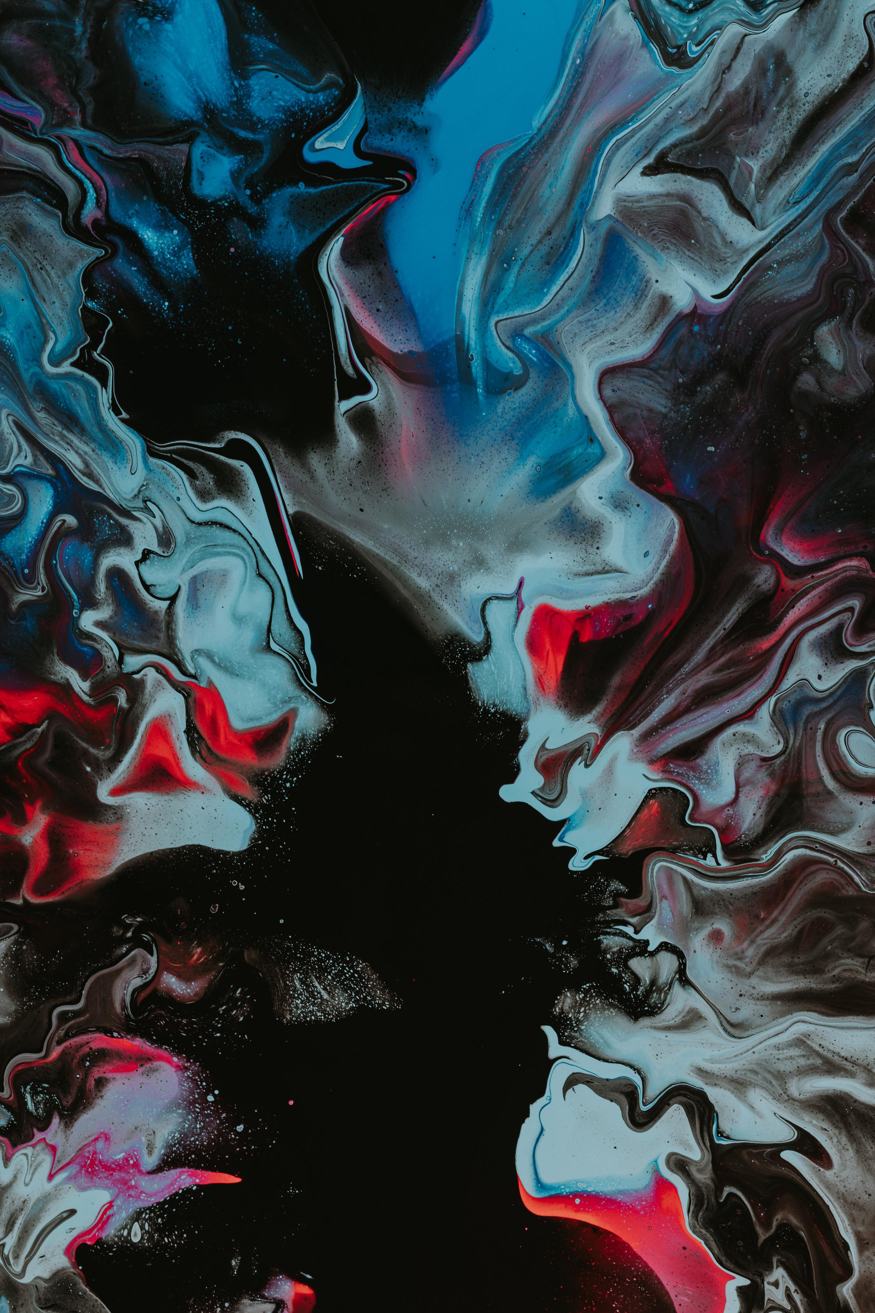 110693 免費下載壁紙 抽象, 离婚, 画, 油漆, 多彩多姿, 五颜六色, 液体 屏保和圖片