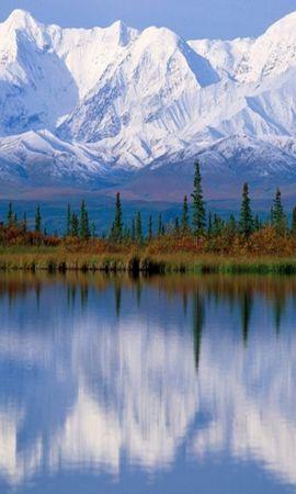 36860 скачать обои Пейзаж, Река, Горы - заставки и картинки бесплатно