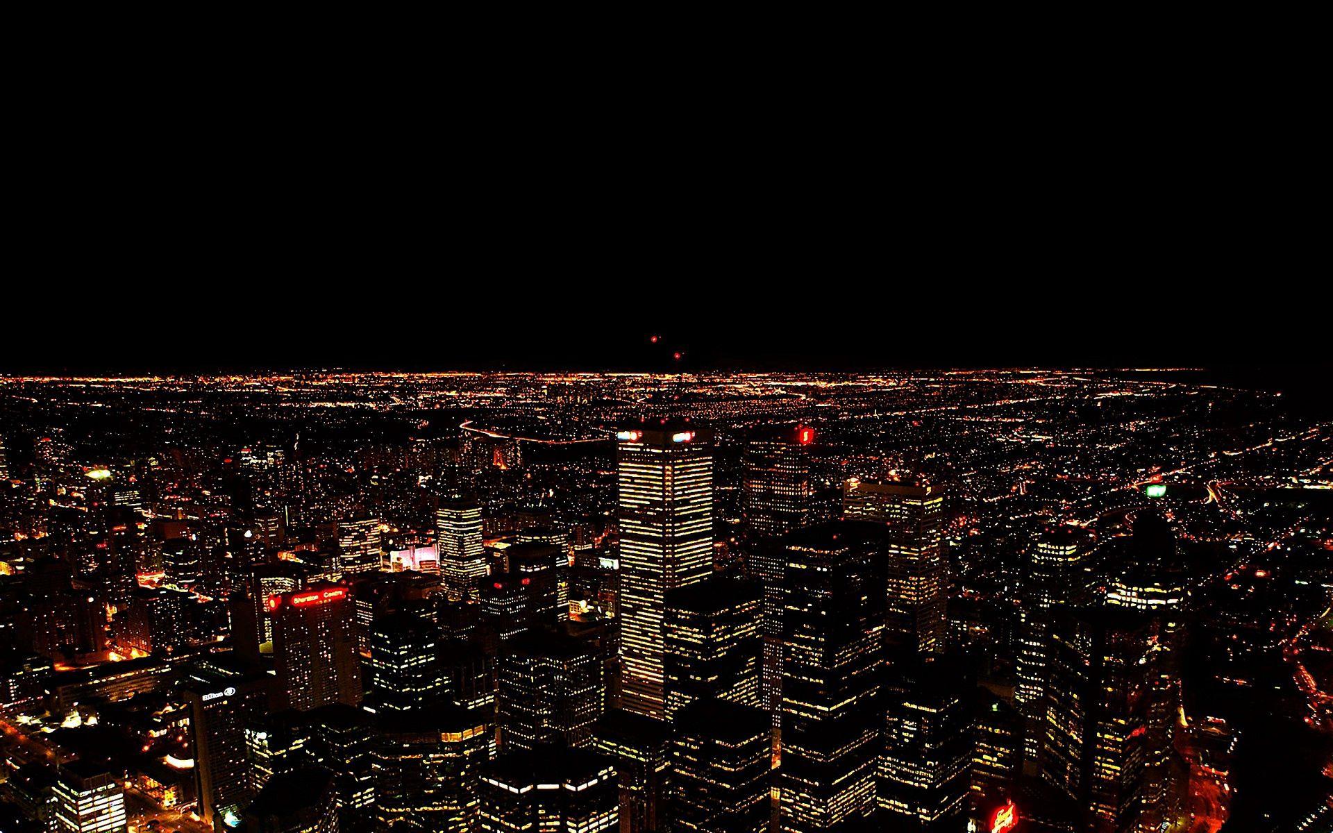 140724 скачать обои Города, Ночь, Город, Вид Сверху, Свет - заставки и картинки бесплатно
