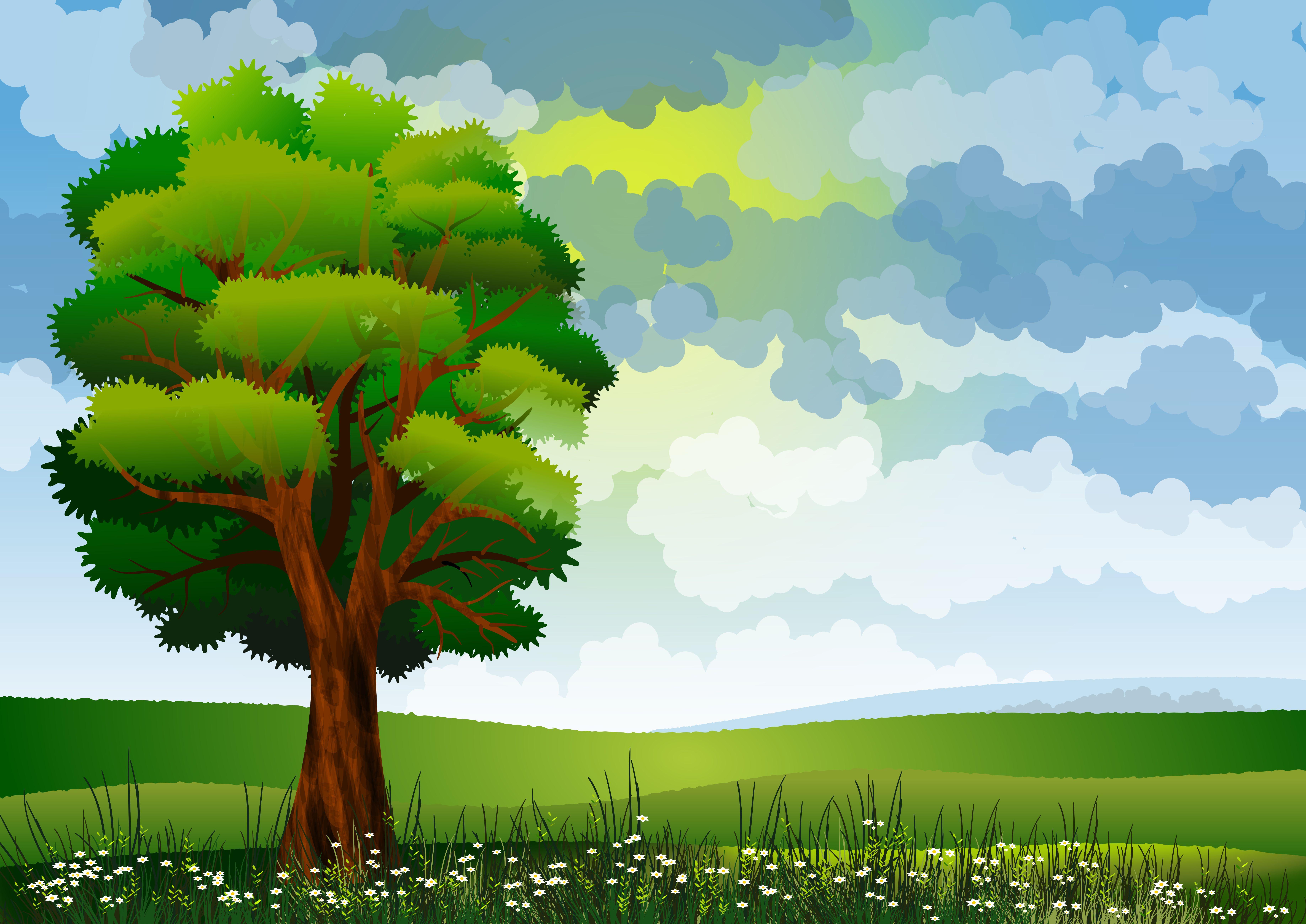 114661 Protetores de tela e papéis de parede Vetor em seu telefone. Baixe Vetor, Flores, Arte, Verão, Madeira, Árvore, Campo fotos gratuitamente