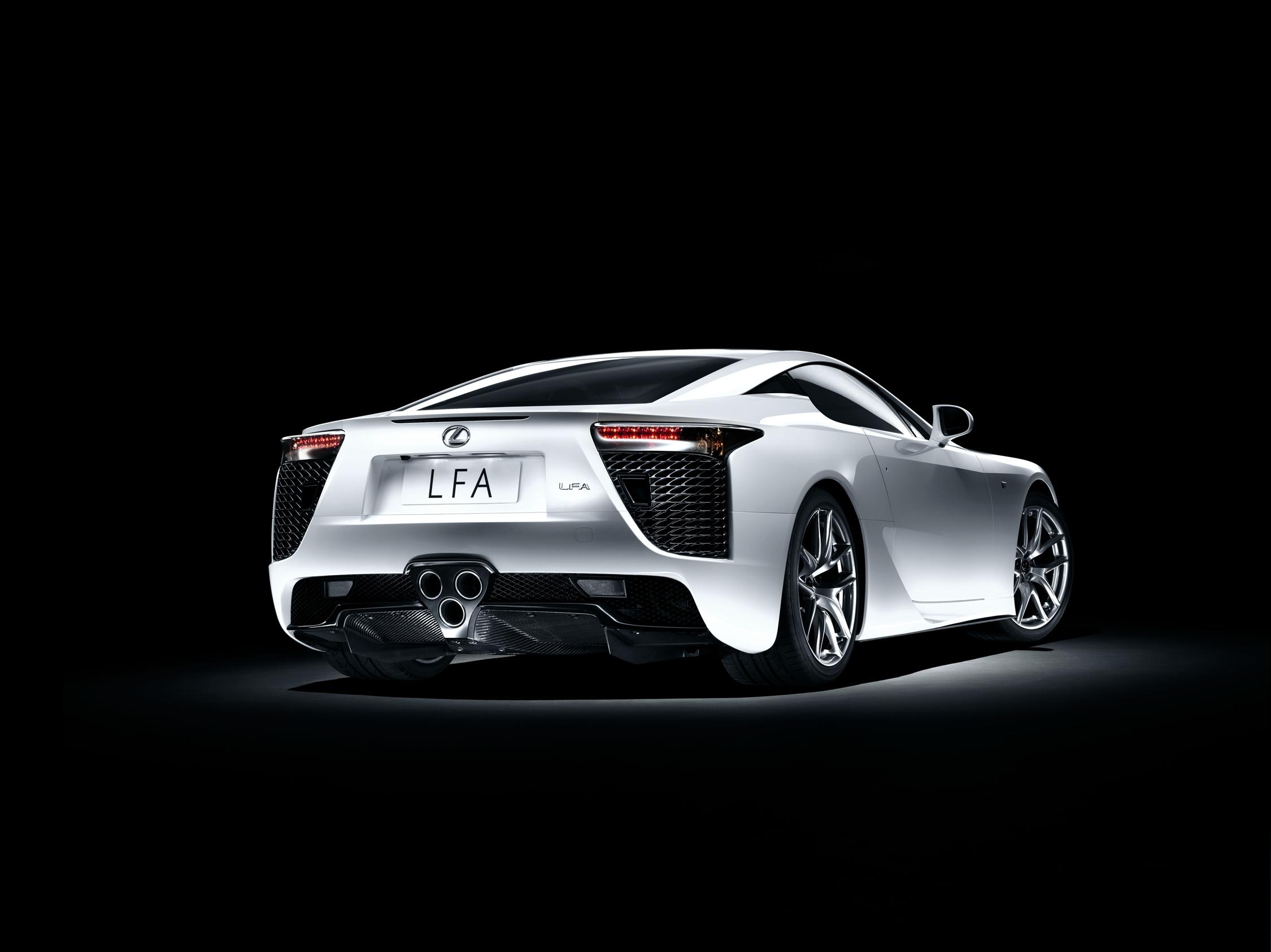 124982 Hintergrundbild herunterladen Lexus, Cars, Seitenansicht, Lfa - Bildschirmschoner und Bilder kostenlos