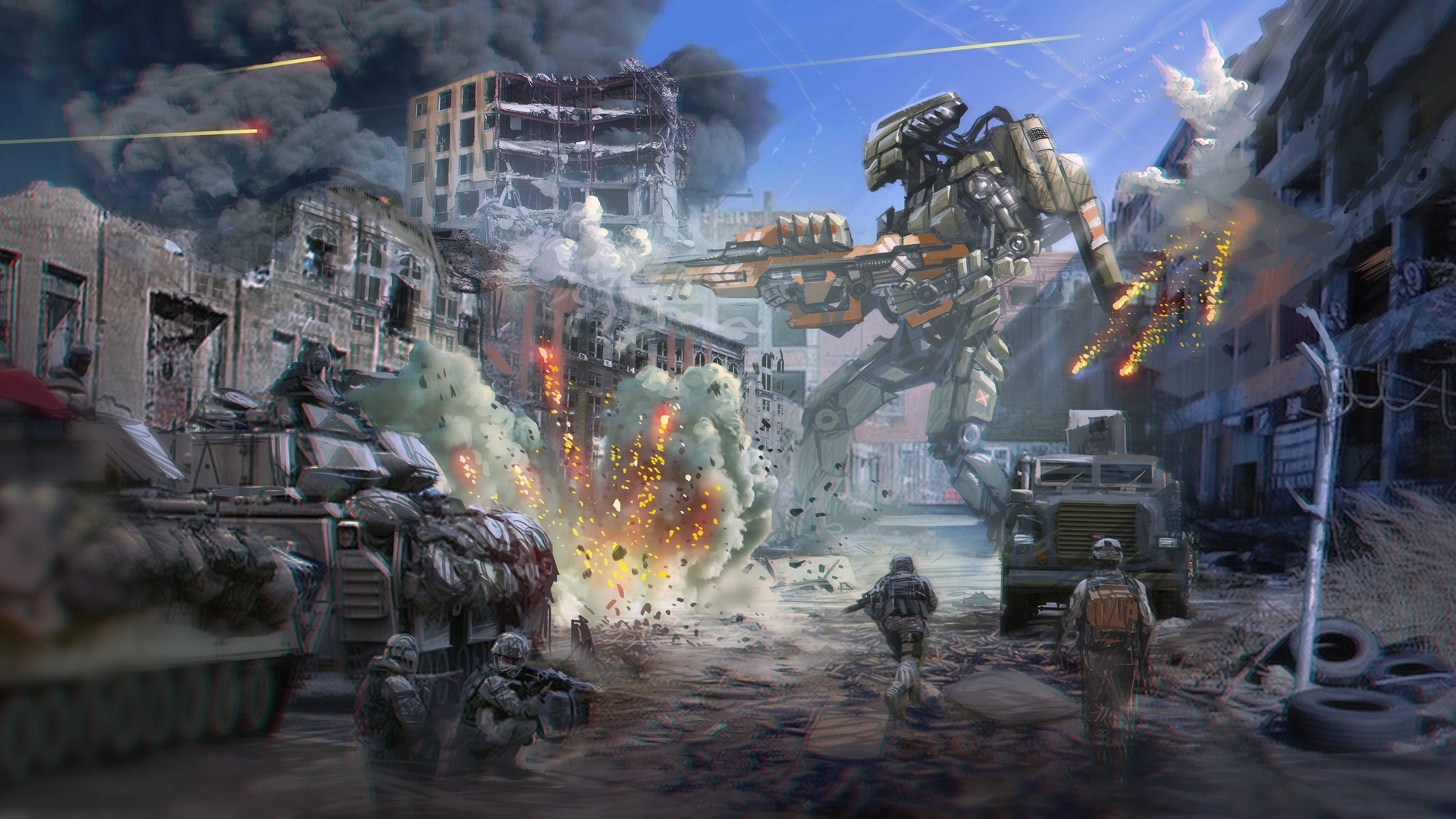 36581 Screensavers and Wallpapers Robots for phone. Download Games, Robots pictures for free
