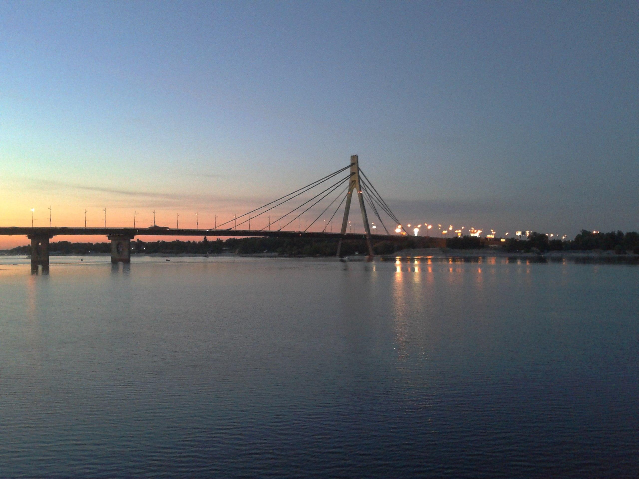 17797 скачать обои Пейзаж, Вода, Мосты, Закат - заставки и картинки бесплатно