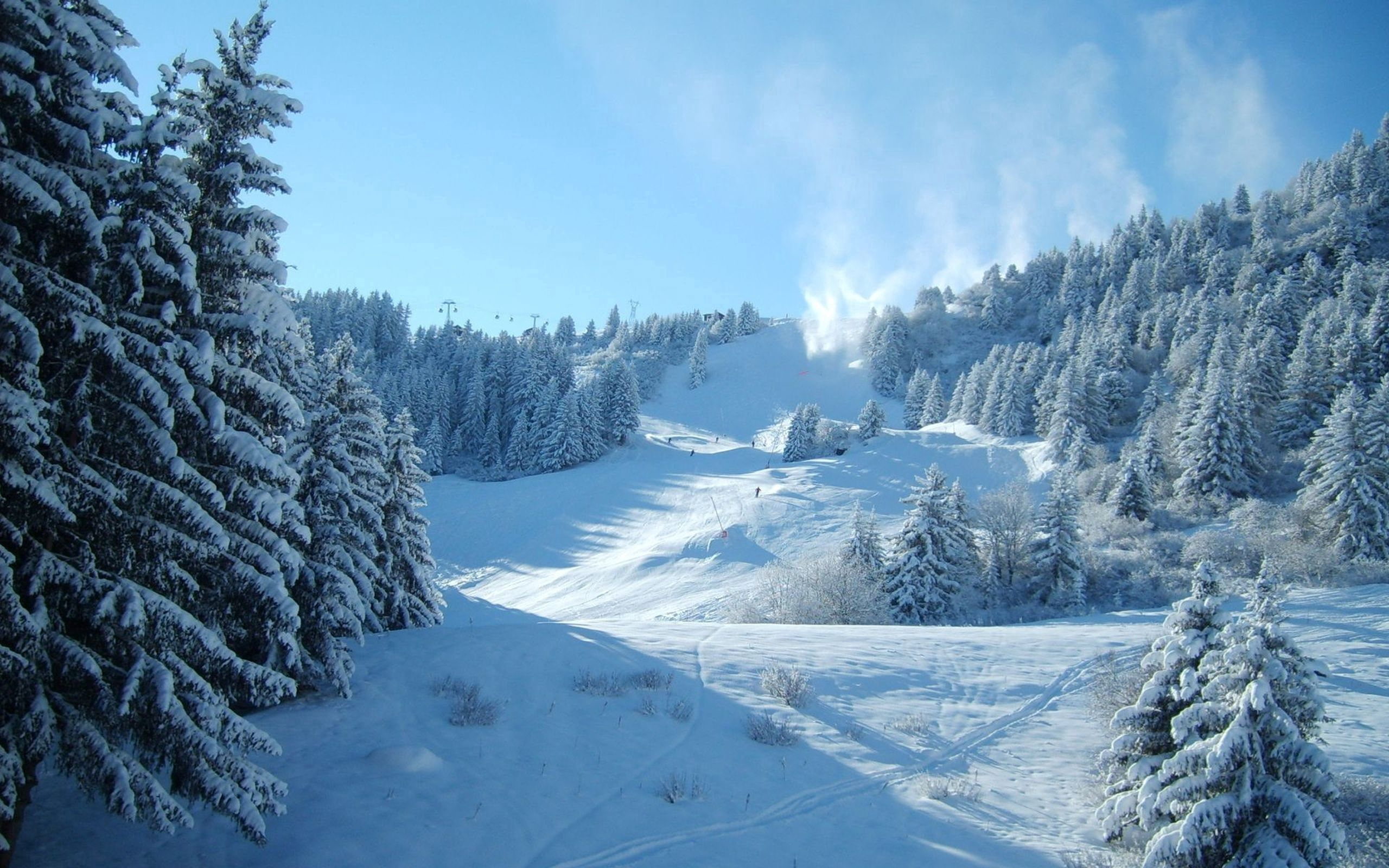 77389 download wallpaper Nature, Snow, Winter, Mountains screensavers and pictures for free
