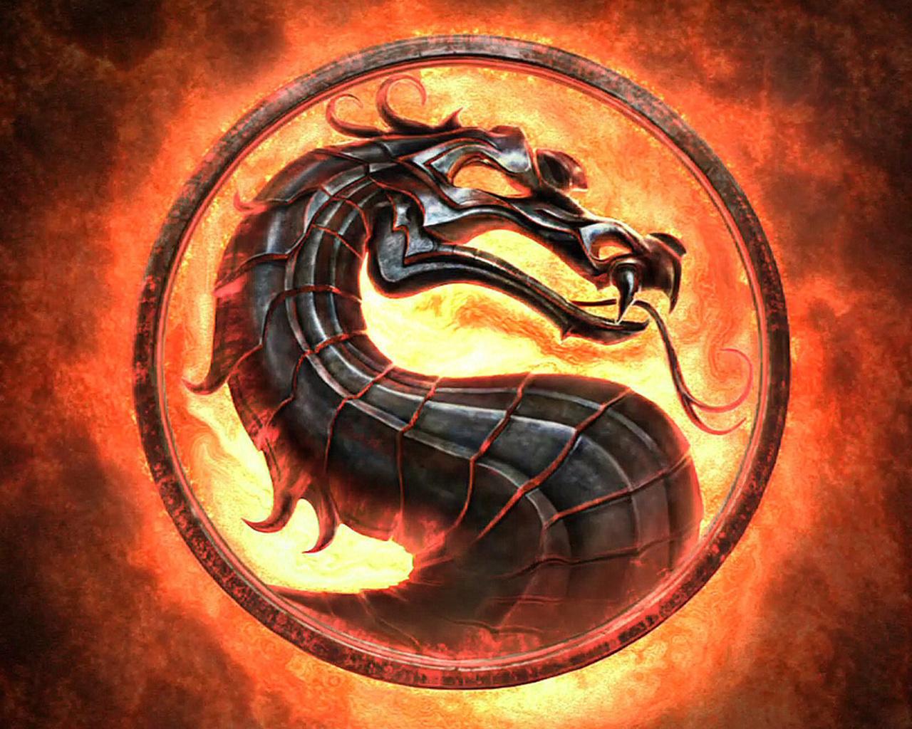 16515 скачать обои Игры, Логотипы, Драконы, Огонь, Мортал Комбат (Mortal Kombat) - заставки и картинки бесплатно