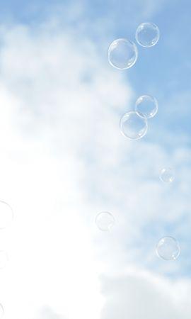 27612 скачать обои Пейзаж, Небо, Пузыри, Облака - заставки и картинки бесплатно