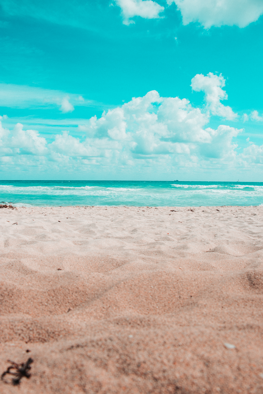 66804 fond d'écran 720x1520 sur votre téléphone gratuitement, téléchargez des images Nature, Sable, Horizon, Océan, Miami 720x1520 sur votre mobile