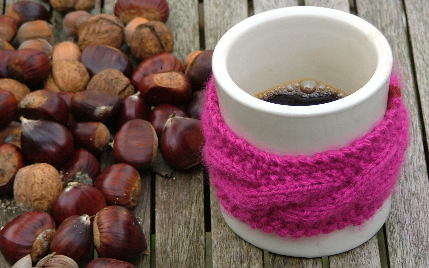 101796 Screensavers and Wallpapers Scarf for phone. Download Food, Coffee, Nuts, Cup, Mug, Scarf pictures for free