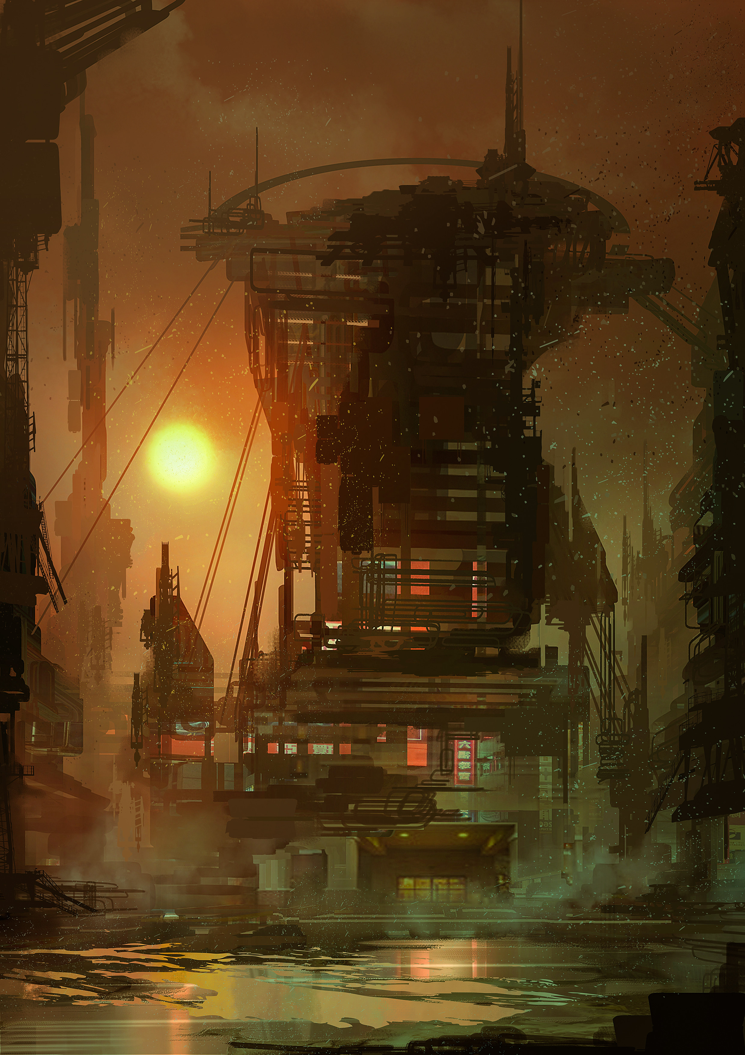 70306 Screensavers and Wallpapers Fiction for phone. Download Art, Building, Fiction, That's Incredible, Steampunk pictures for free
