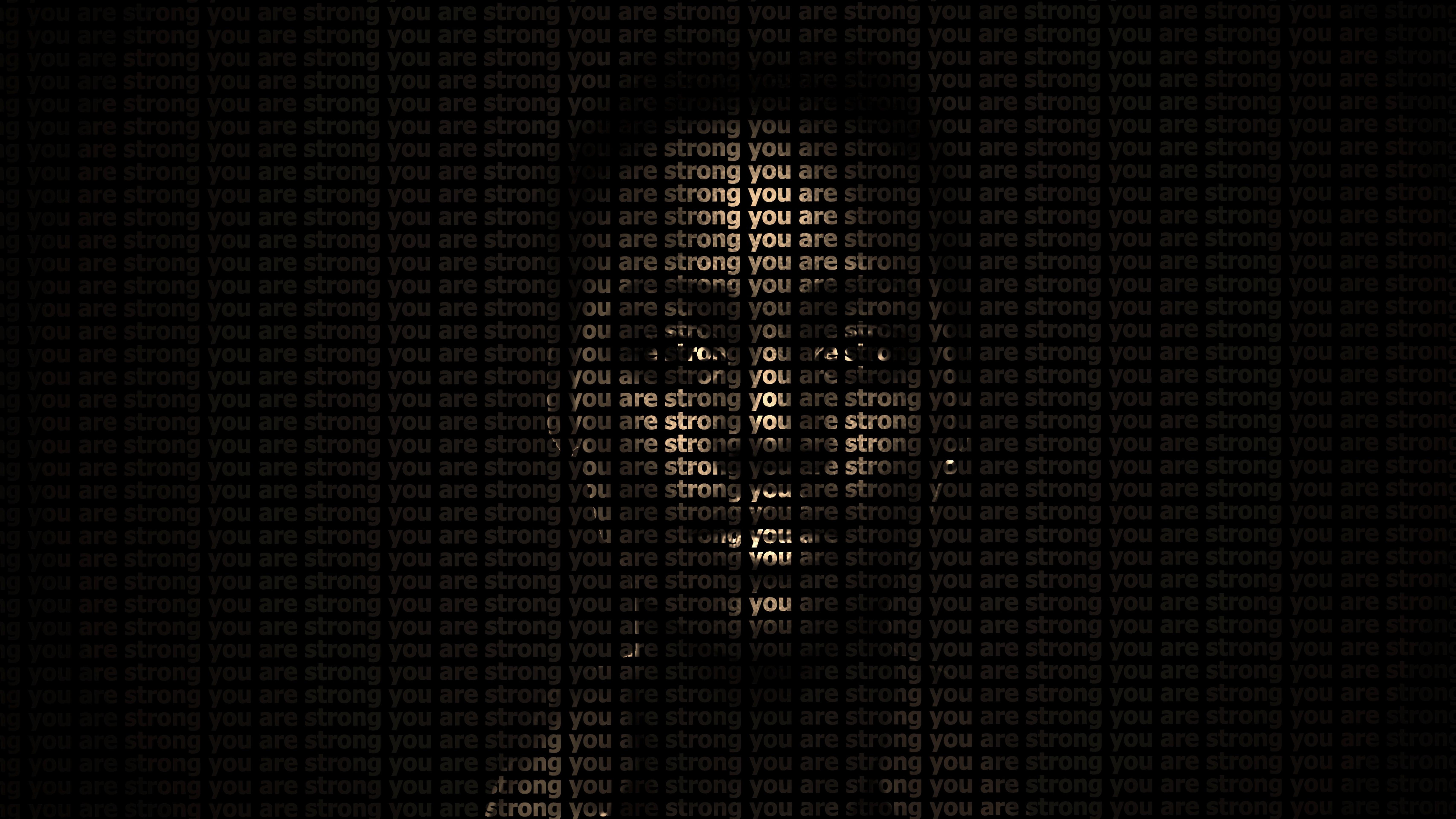 113501 скачать обои Темный, Слова, Надпись, Текст, Мотивация, Лицо, Сильный - заставки и картинки бесплатно