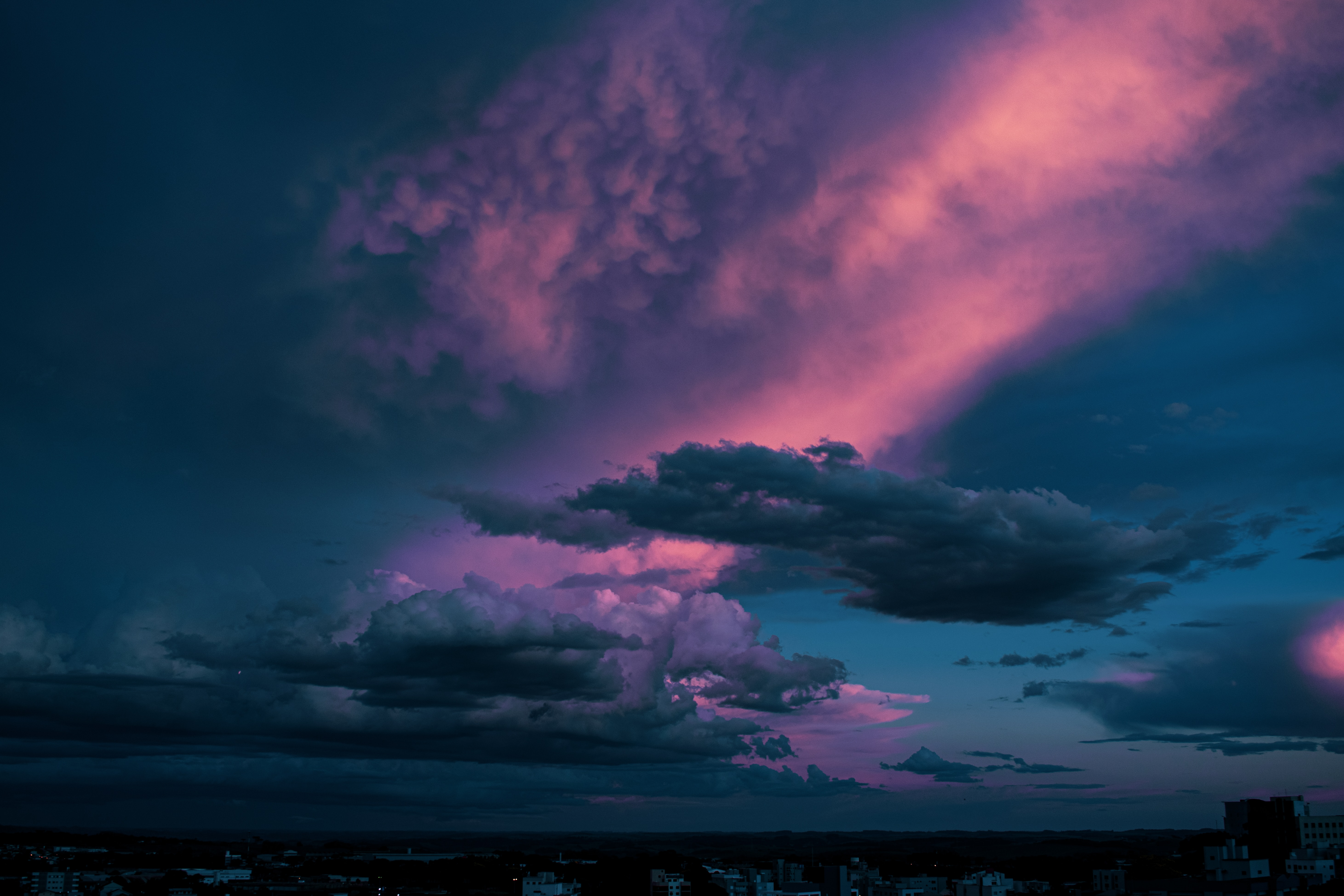 74332 Screensavers and Wallpapers Twilight for phone. Download Nature, Sky, Twilight, Clouds, Dark, Dusk pictures for free