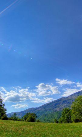 19916 descargar fondo de pantalla Paisaje, Cielo, Montañas, Nubes: protectores de pantalla e imágenes gratis