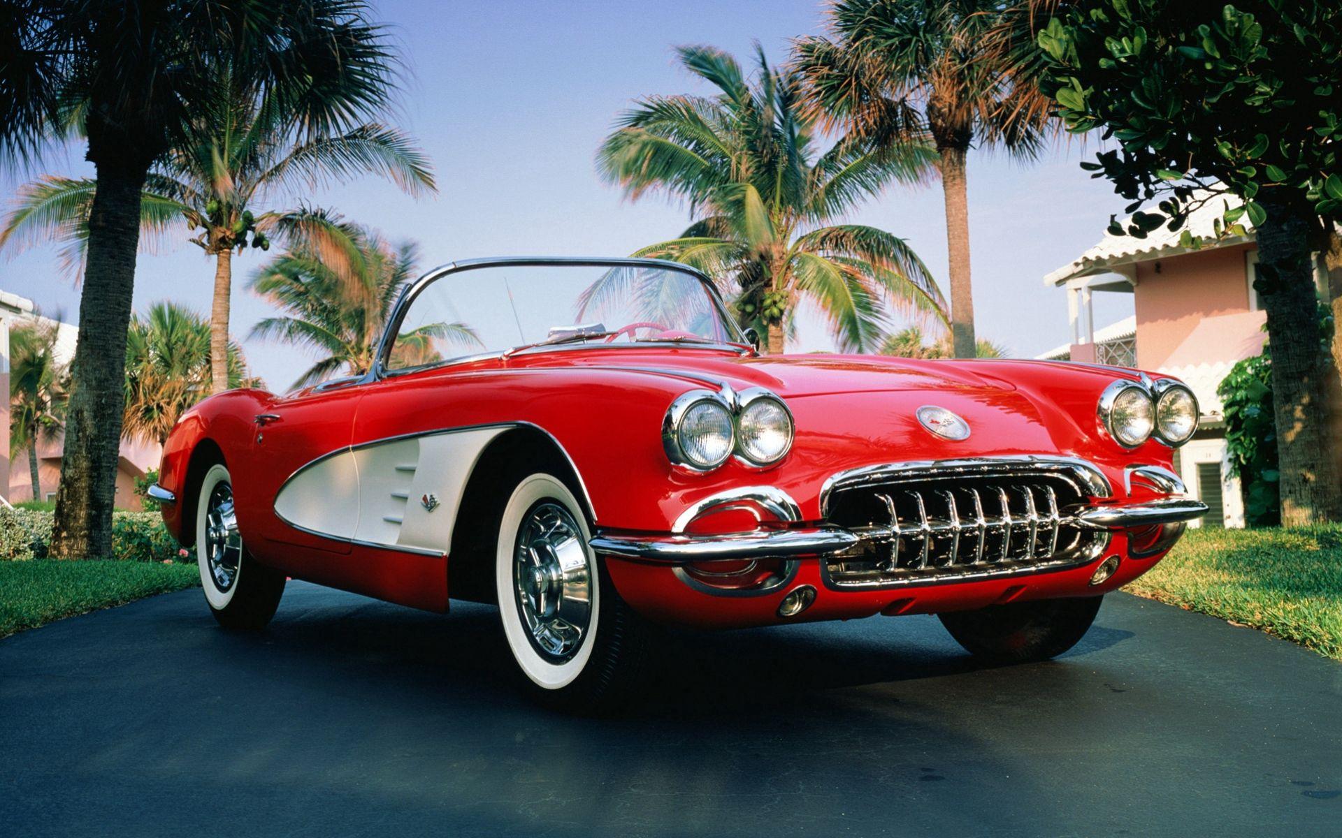 55040 скачать обои Тачки (Cars), 1960, Шевроле (Chevrolet), Corvette, Машины - заставки и картинки бесплатно