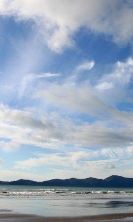29933 скачать обои Пейзаж, Море, Облака, Пляж - заставки и картинки бесплатно