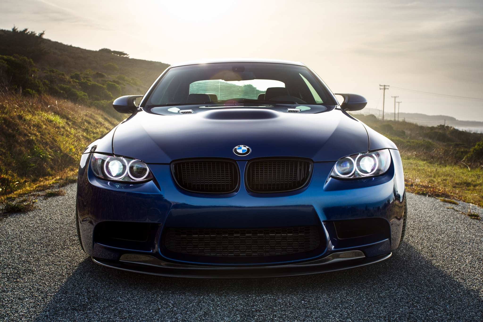 148738 download wallpaper Bmw, Cars, Shadow, M3, E92, Laguna Blue screensavers and pictures for free