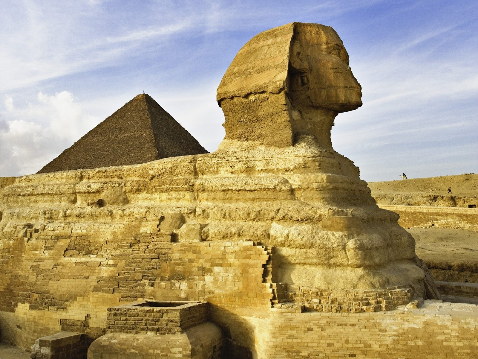 3481 download wallpaper Sphinx, Landscape, Egypt screensavers and pictures for free