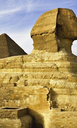 3481 скачать обои Пейзаж, Египет, Сфинкс - заставки и картинки бесплатно