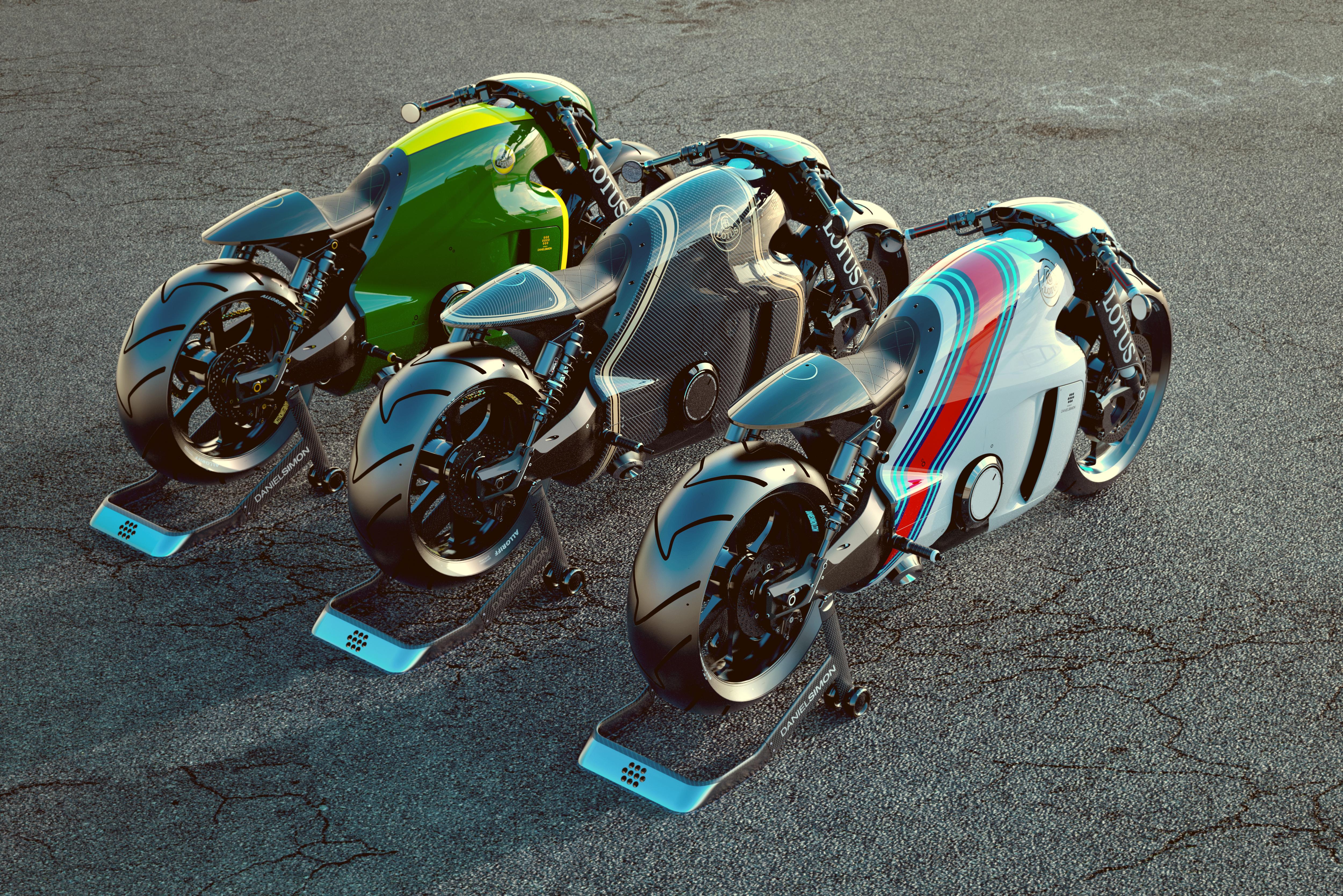 54499 Hintergrundbild herunterladen Motorräder, Motorrad, Lotus C-01, Superbike, Machen, Erbringen - Bildschirmschoner und Bilder kostenlos