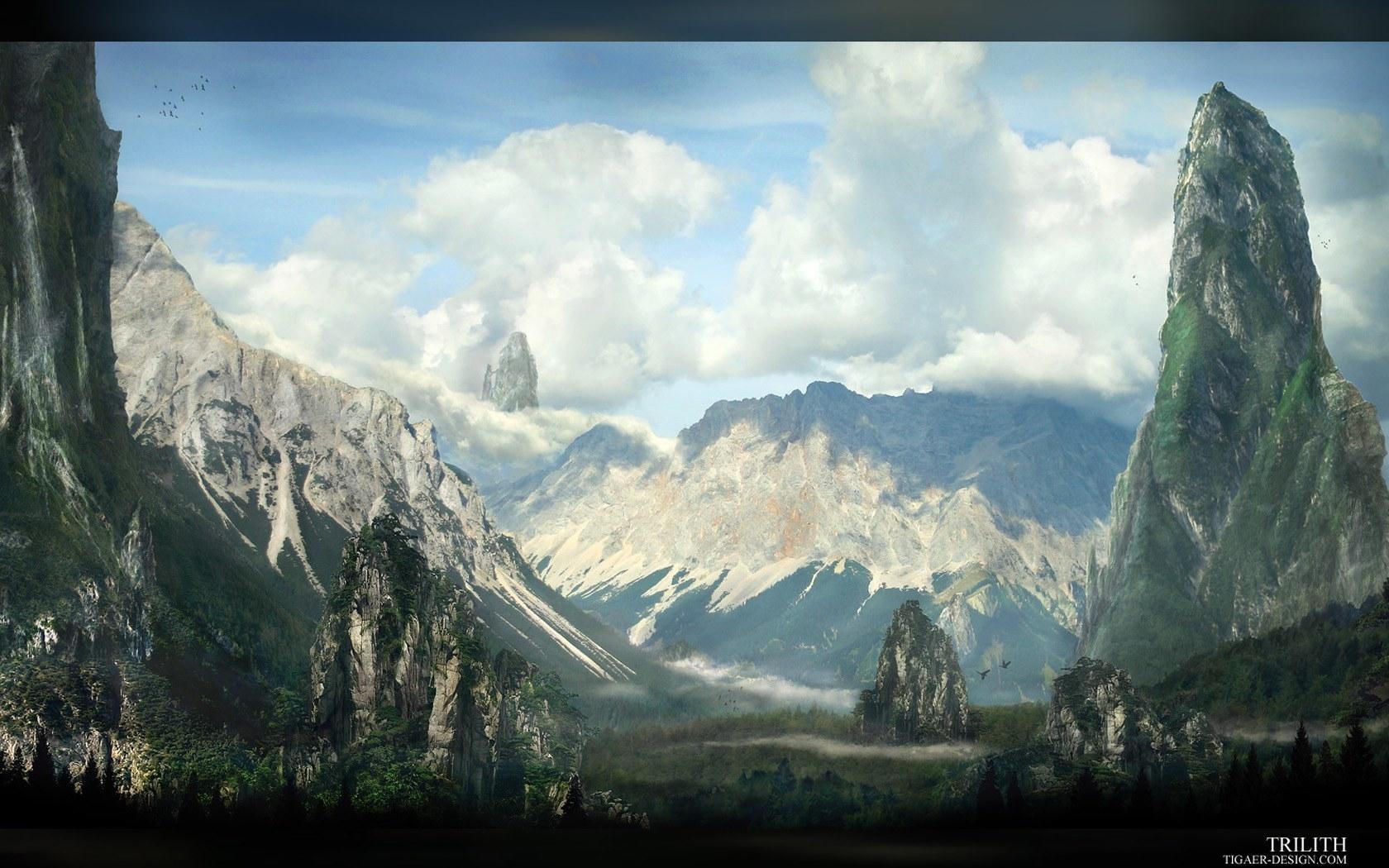 516 скачать обои Пейзаж, Небо, Горы - заставки и картинки бесплатно