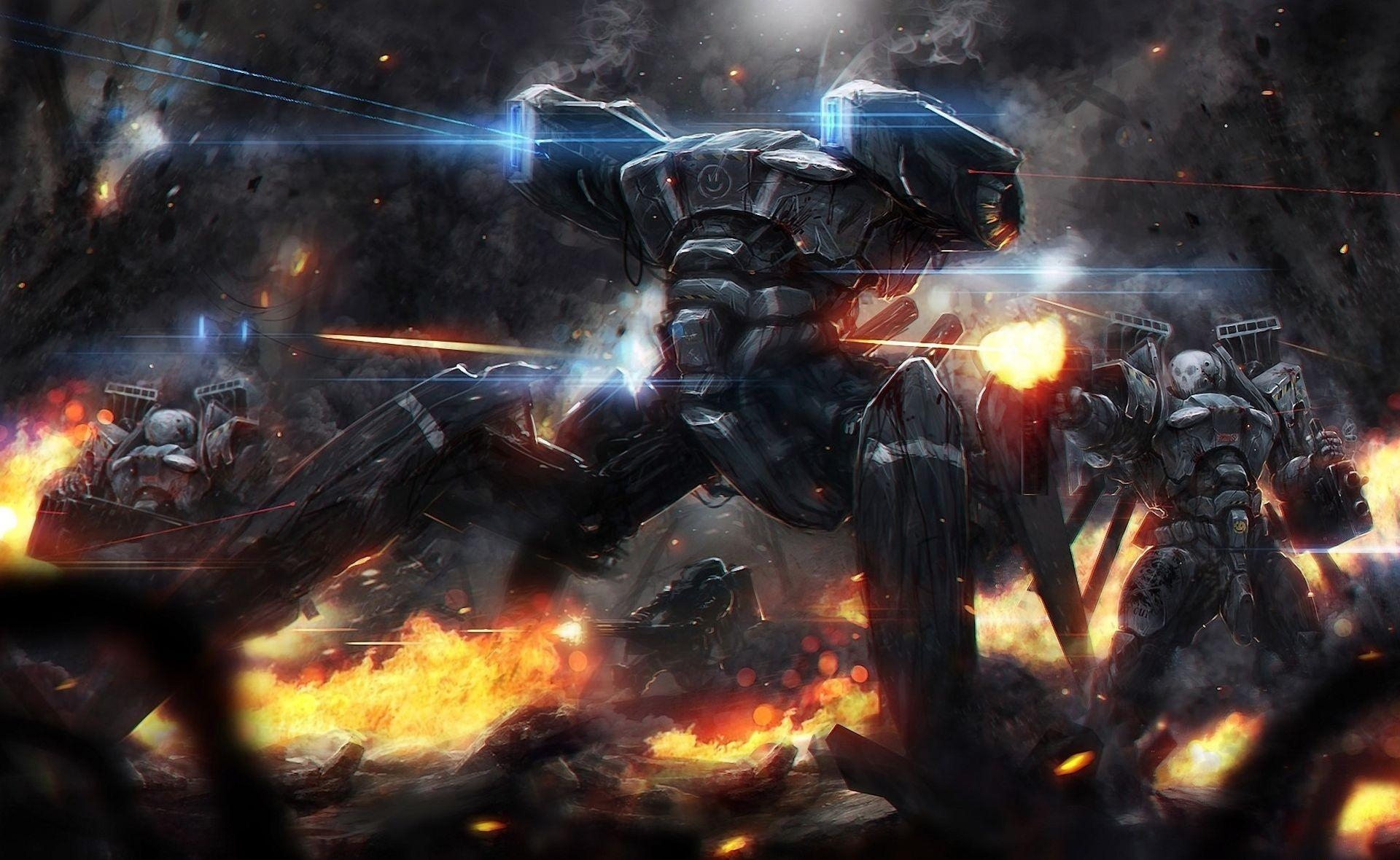 72033 Screensavers and Wallpapers Robots for phone. Download Fantasy, Fire, Shooting, Auto, Robots, War pictures for free