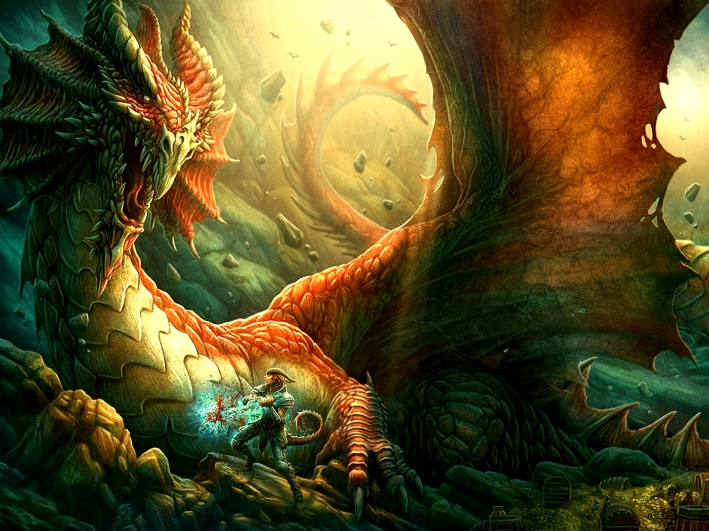 29598 Screensavers and Wallpapers Dragons for phone. Download Fantasy, Dragons pictures for free
