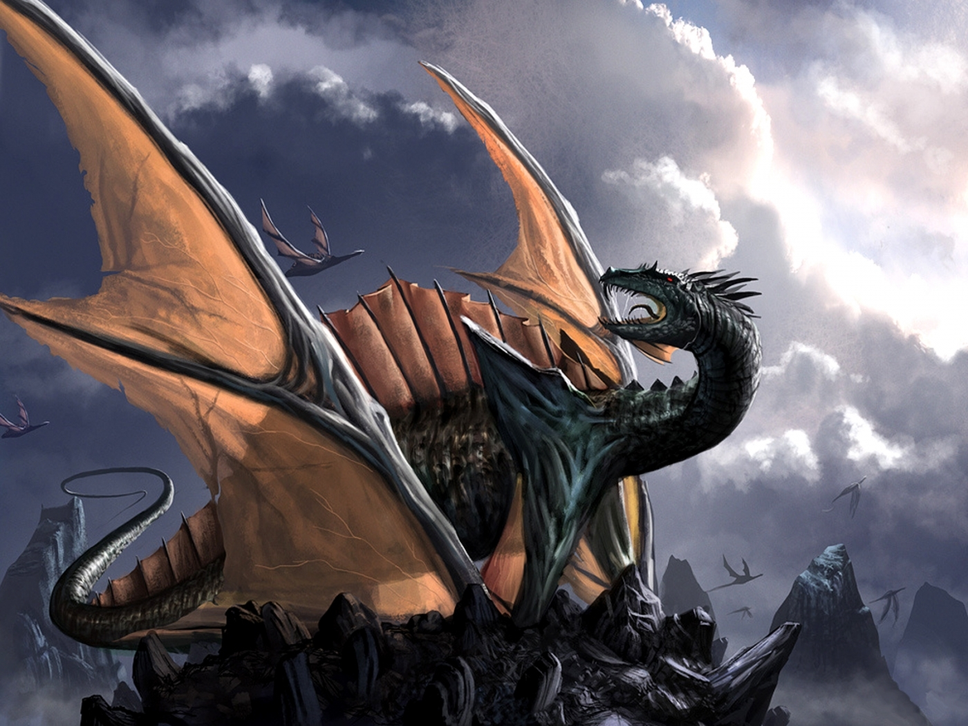27500 Screensavers and Wallpapers Dragons for phone. Download Fantasy, Dragons pictures for free