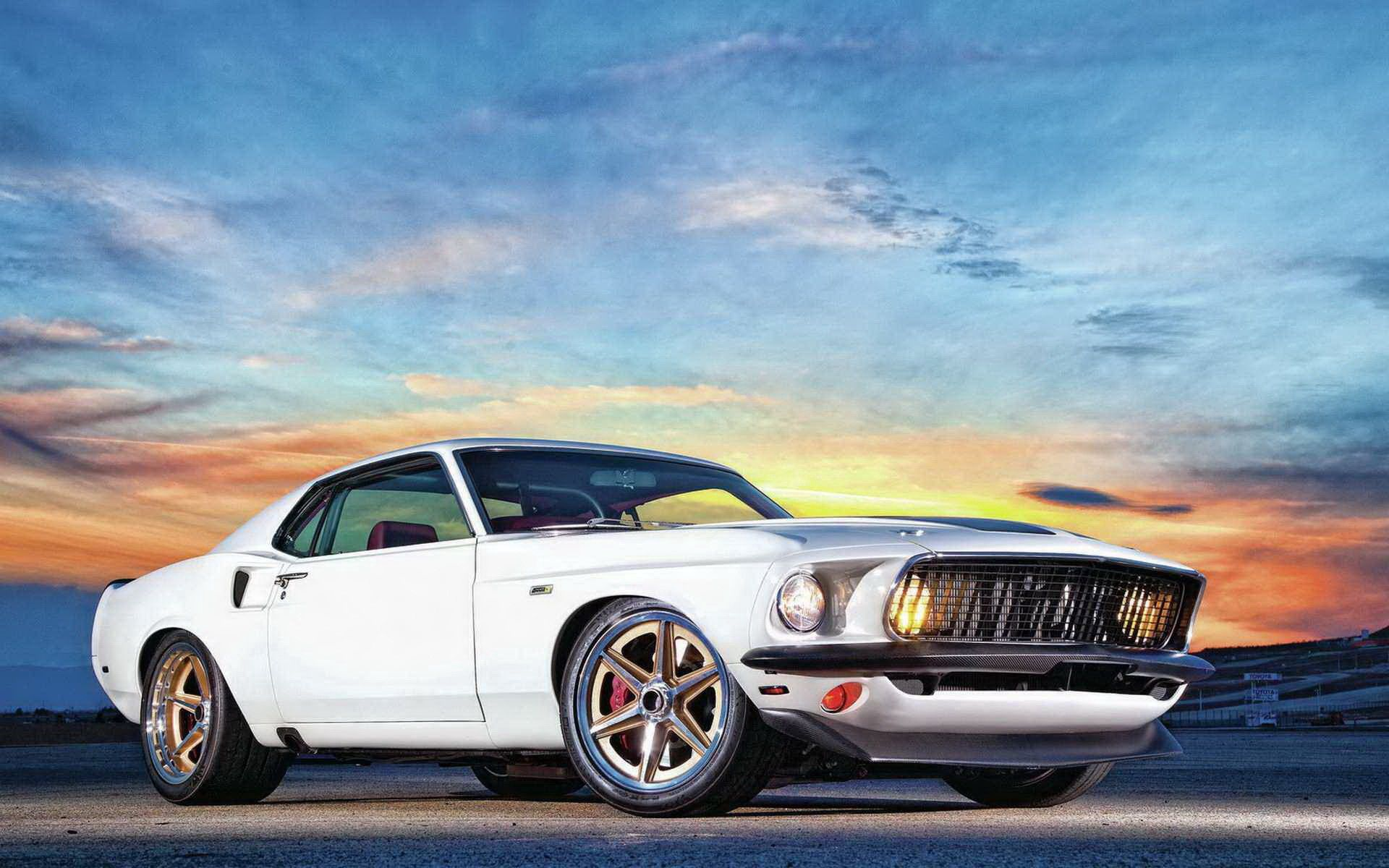 83591 free wallpaper 720x1280 for phone, download images Cars, Side View, Ford Mustang, Muscle Car 720x1280 for mobile