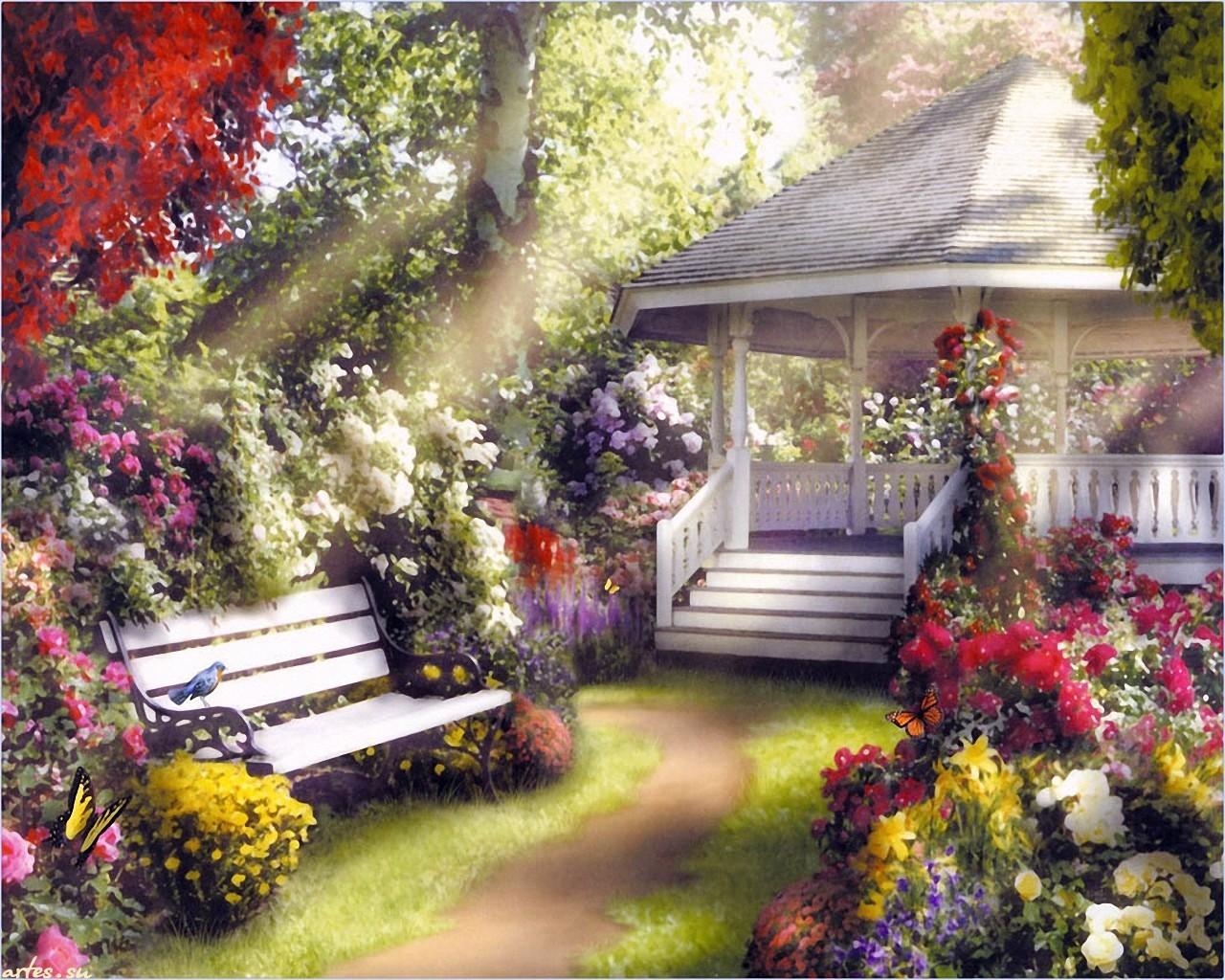 13639 télécharger le fond d'écran Plantes, Paysage, Fleurs - économiseurs d'écran et images gratuitement