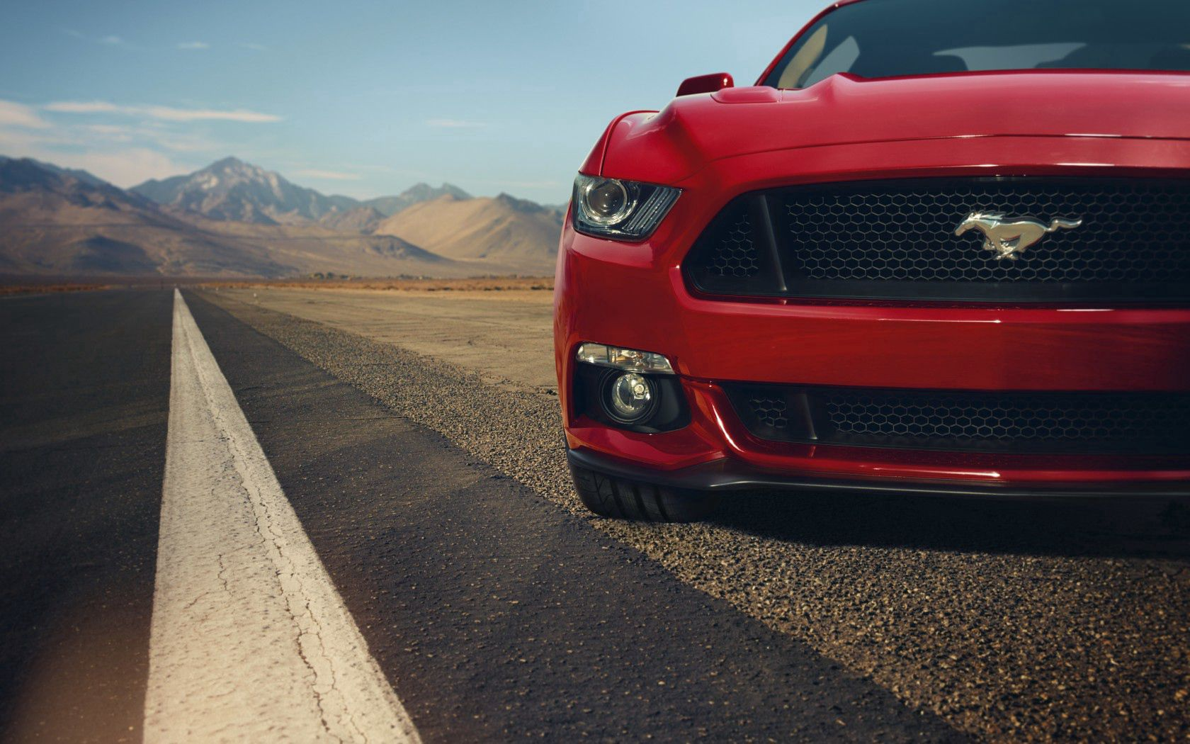 109194 download wallpaper Cars, Ford, Mustang, Gt, Muscle Car, Front, Before screensavers and pictures for free