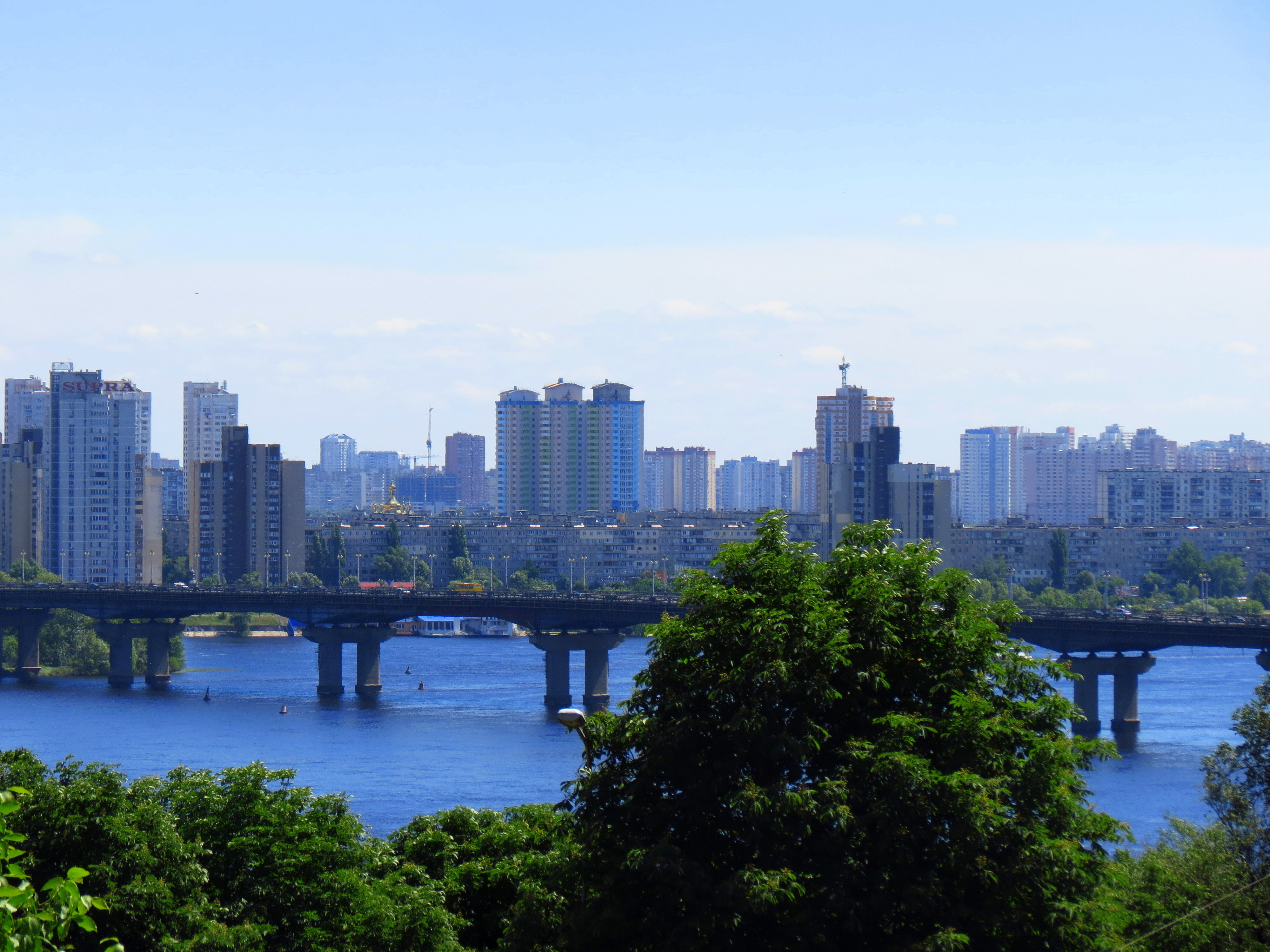 18261 скачать обои Пейзаж, Города, Река, Мосты - заставки и картинки бесплатно