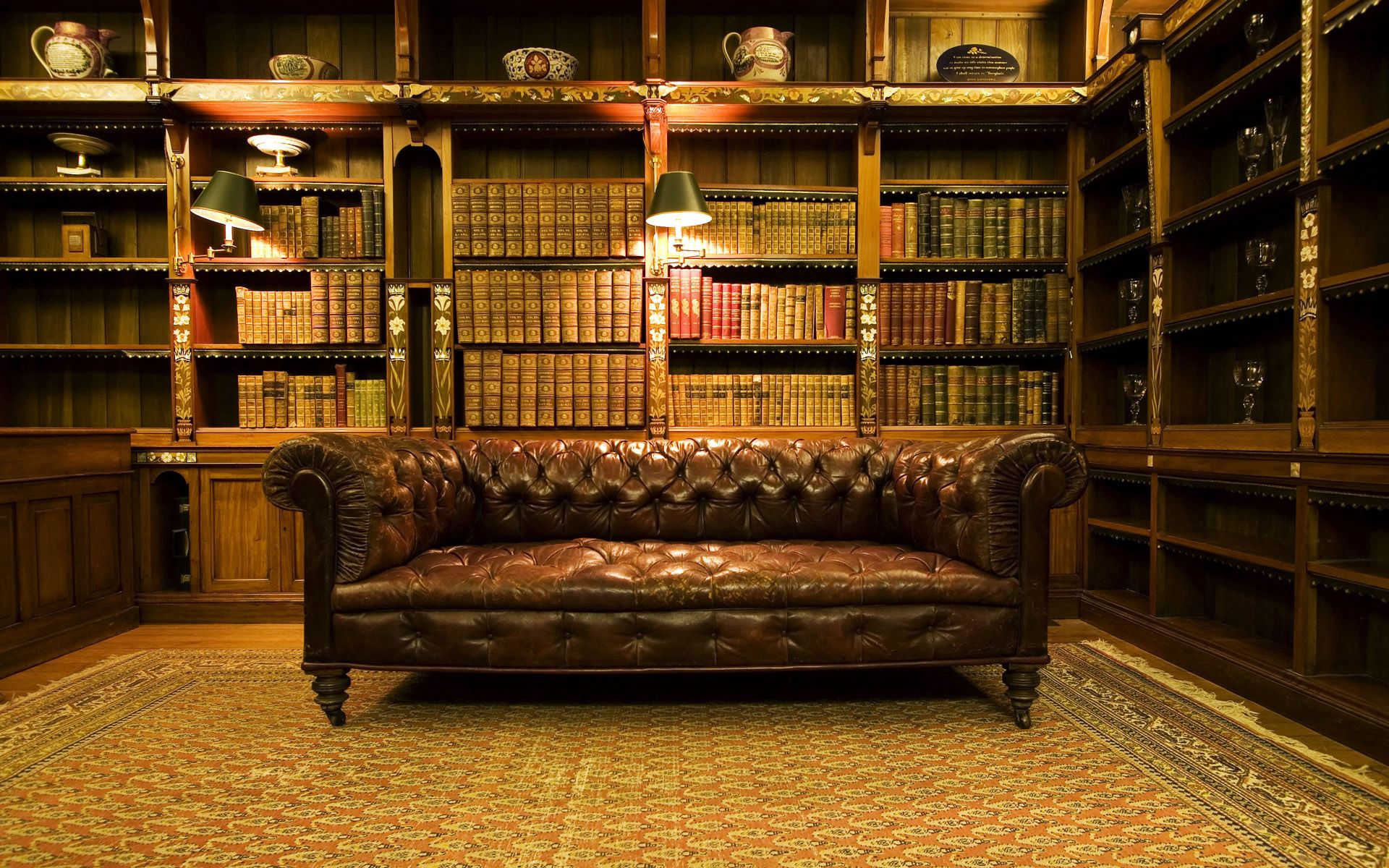136236 Screensavers and Wallpapers Interior for phone. Download Interior, Miscellanea, Miscellaneous, Design, Old Library, Home Library pictures for free