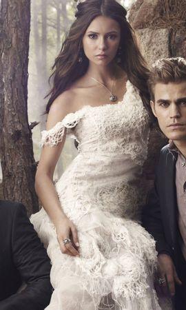 48961 descargar fondo de pantalla Cine, Personas, Vampire Diaries: protectores de pantalla e imágenes gratis
