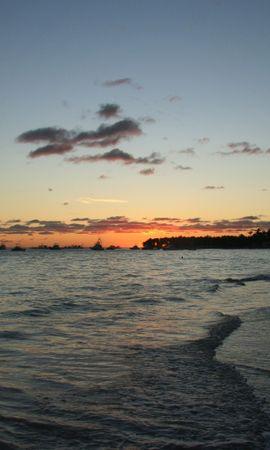 29582 скачать обои Пейзаж, Закат, Море, Пляж - заставки и картинки бесплатно