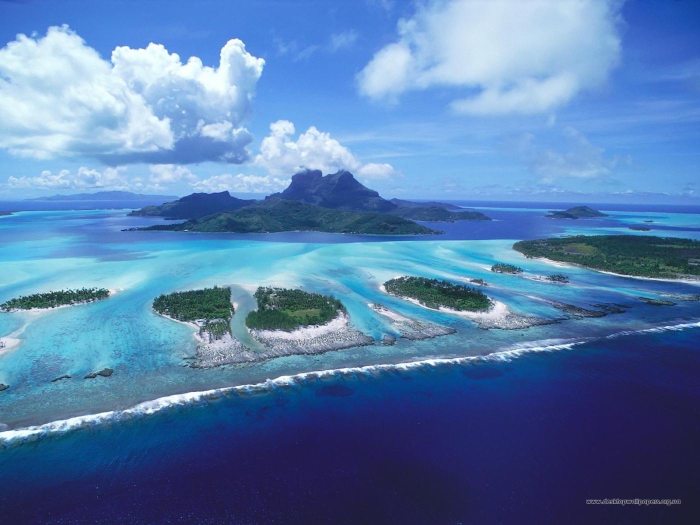 28490 скачать обои Пейзаж, Горы, Море, Облака - заставки и картинки бесплатно