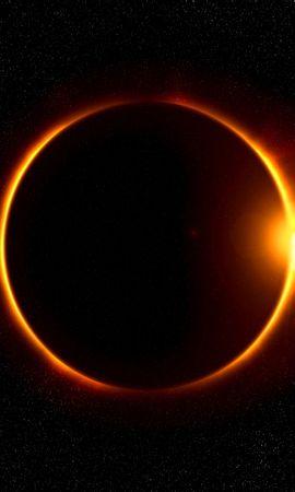 113027 Заставки и Обои Солнце на телефон. Скачать Затмение, Луна, Лучи, Блеск, Солнце, Космос картинки бесплатно