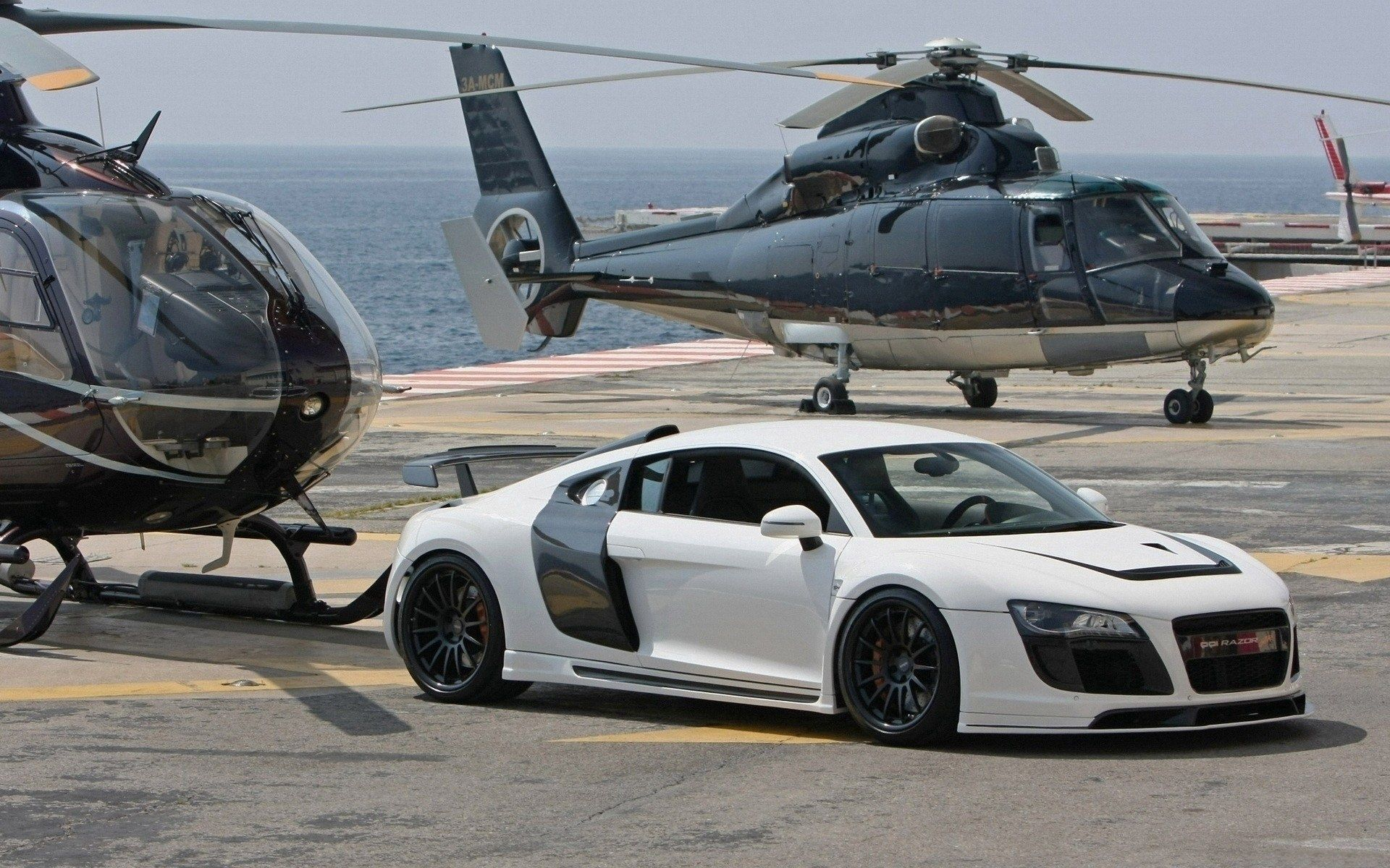 102952 download wallpaper Cars, Audi, Auto, Car, Machine, Helicopter, Style screensavers and pictures for free