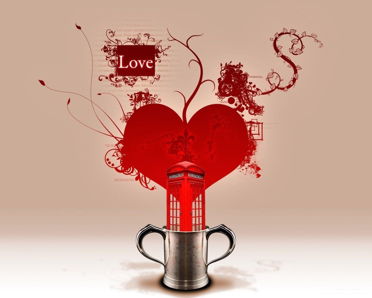 2859 download wallpaper Abstract, Hearts, Love, Valentine's Day, Pictures screensavers and pictures for free