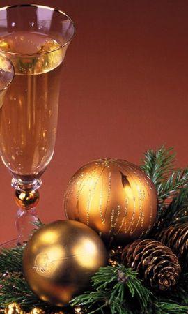 2265 télécharger le fond d'écran Fêtes, Nouvelle Année, Noël, Boissons - économiseurs d'écran et images gratuitement