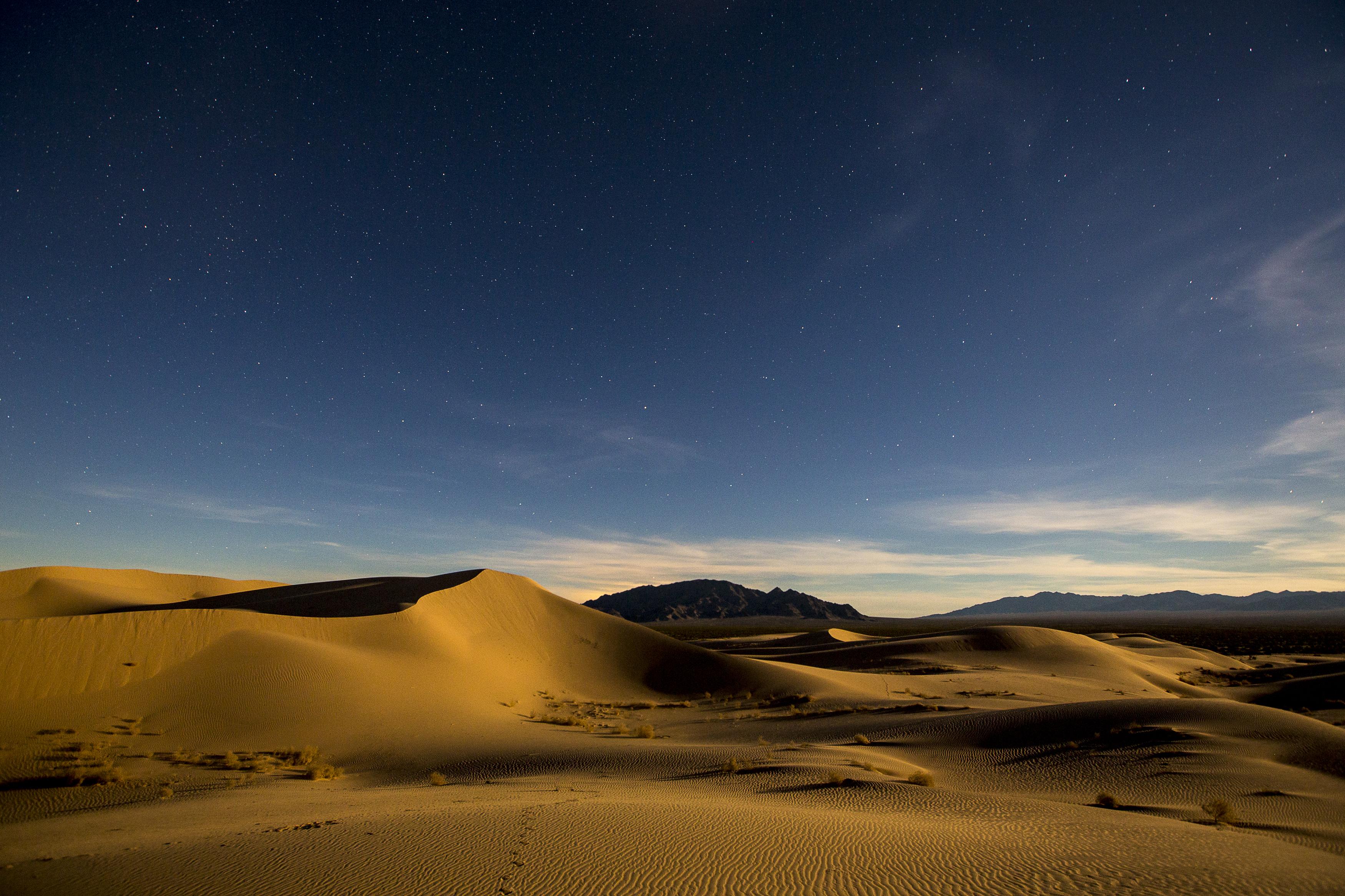 101181 Заставки и Обои Пустыня на телефон. Скачать Дюны, Пустыня, Природа, Звездное Небо, Пески картинки бесплатно