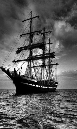 45278 download wallpaper Transport, Landscape, Ships, Sea screensavers and pictures for free